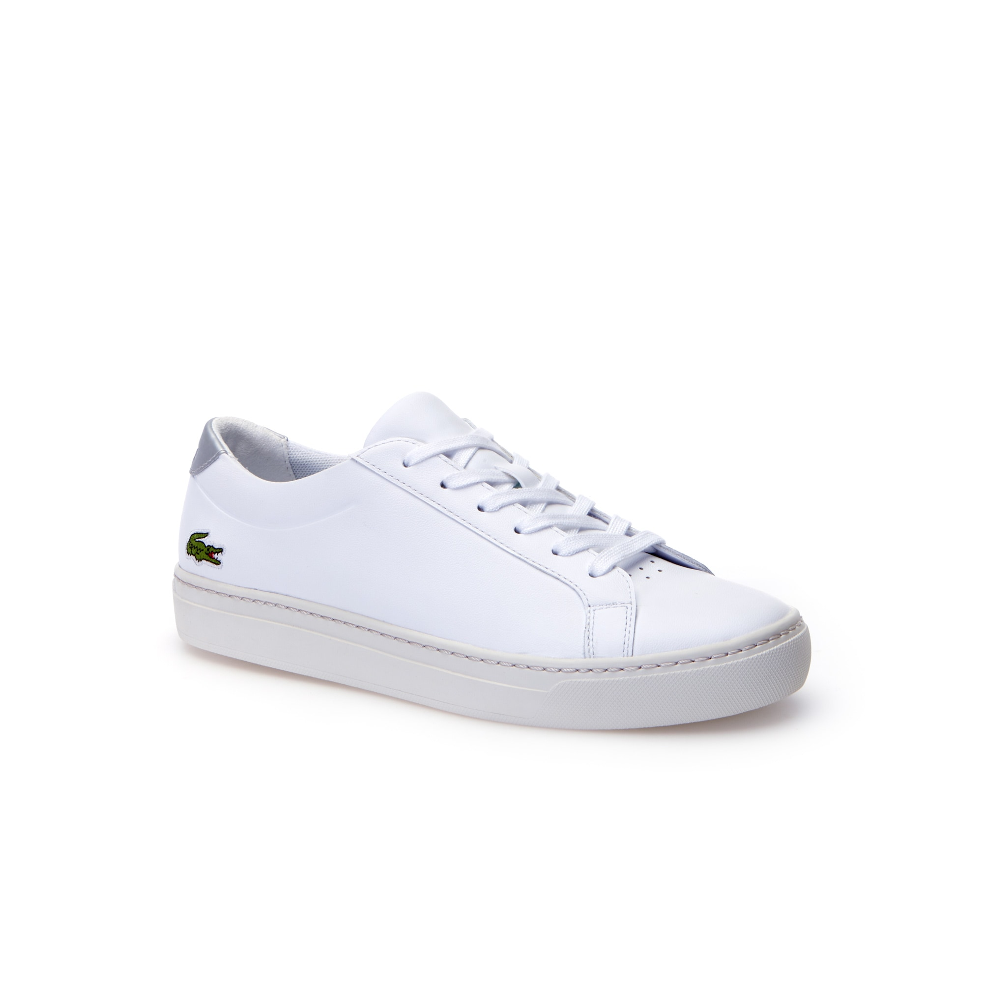 Kids' L.12.12 Leather Trainers by Lacoste