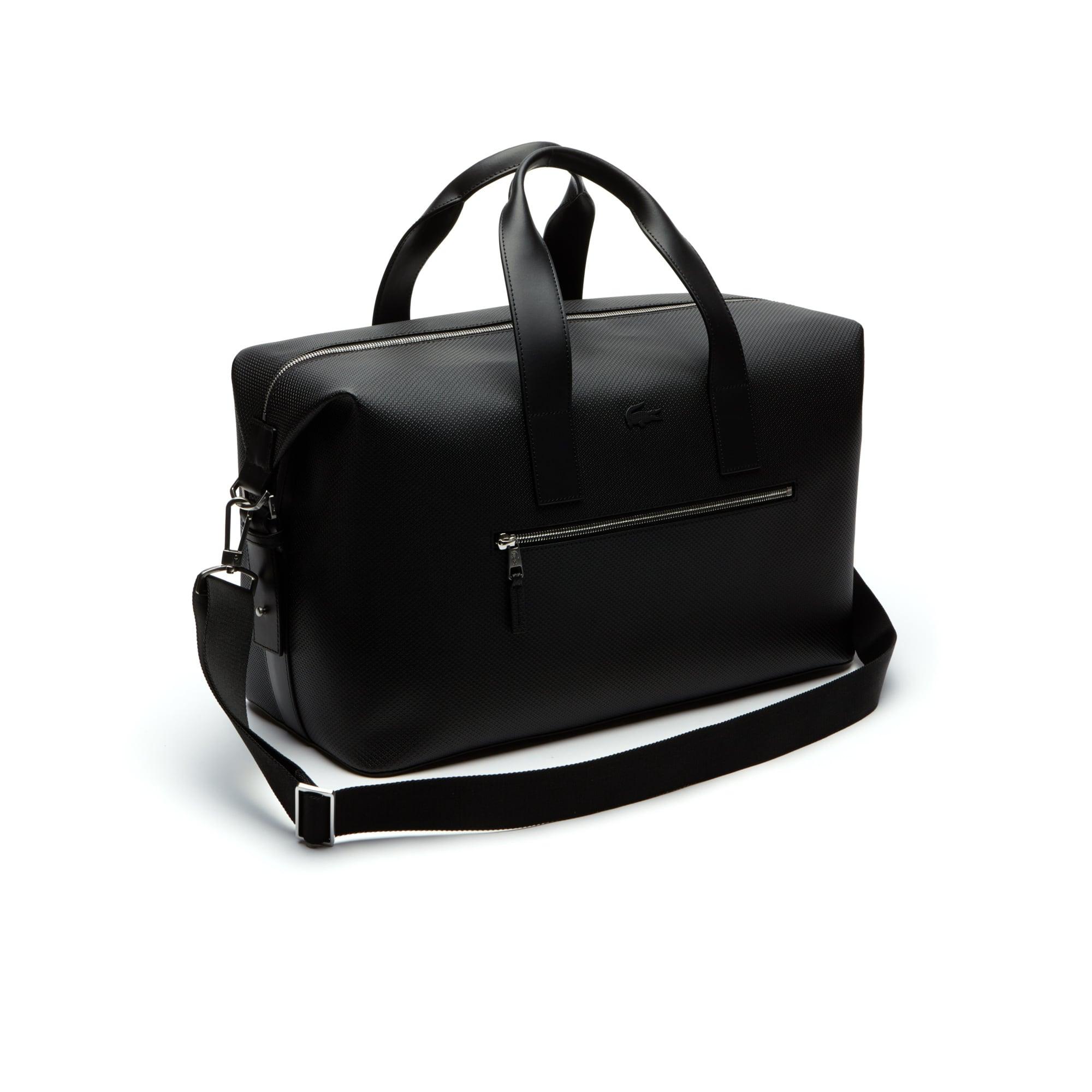 Men S Chantaco Matte Piqué Leather Weekend Bag