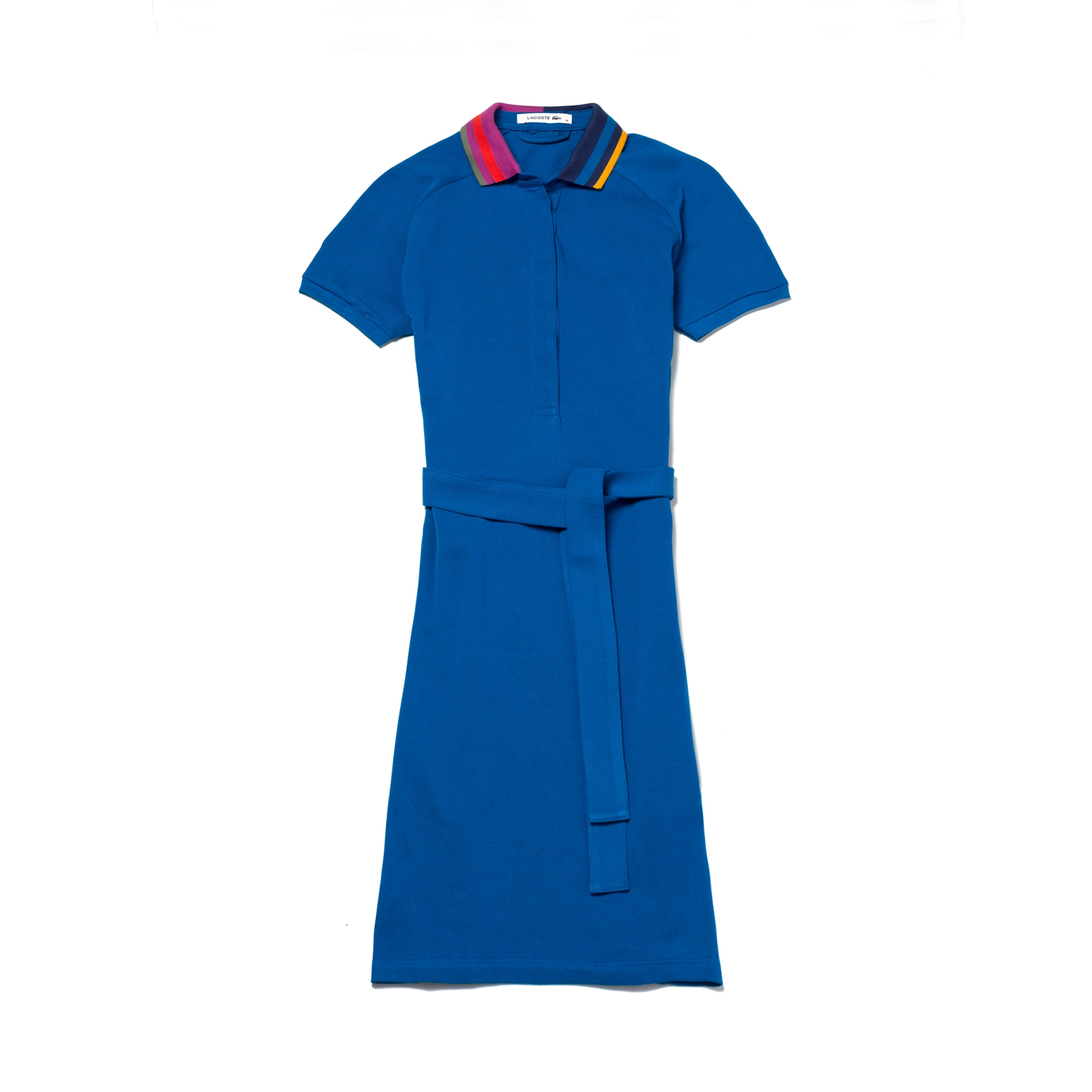 Women's Flamme Piqué  Adjustable Belt Polo Dress