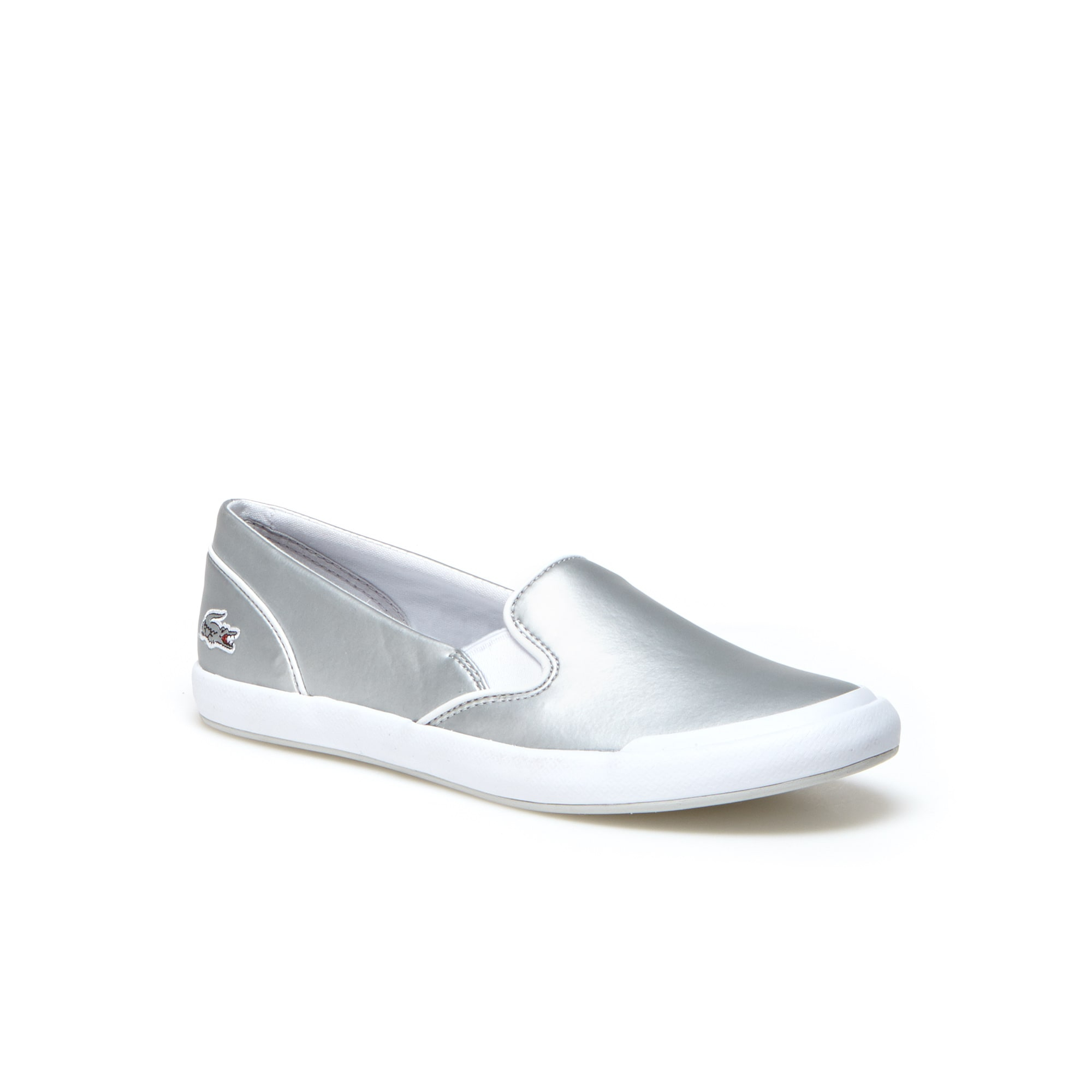Lancelle Slip-on Leather Sneakers | LACOSTE
