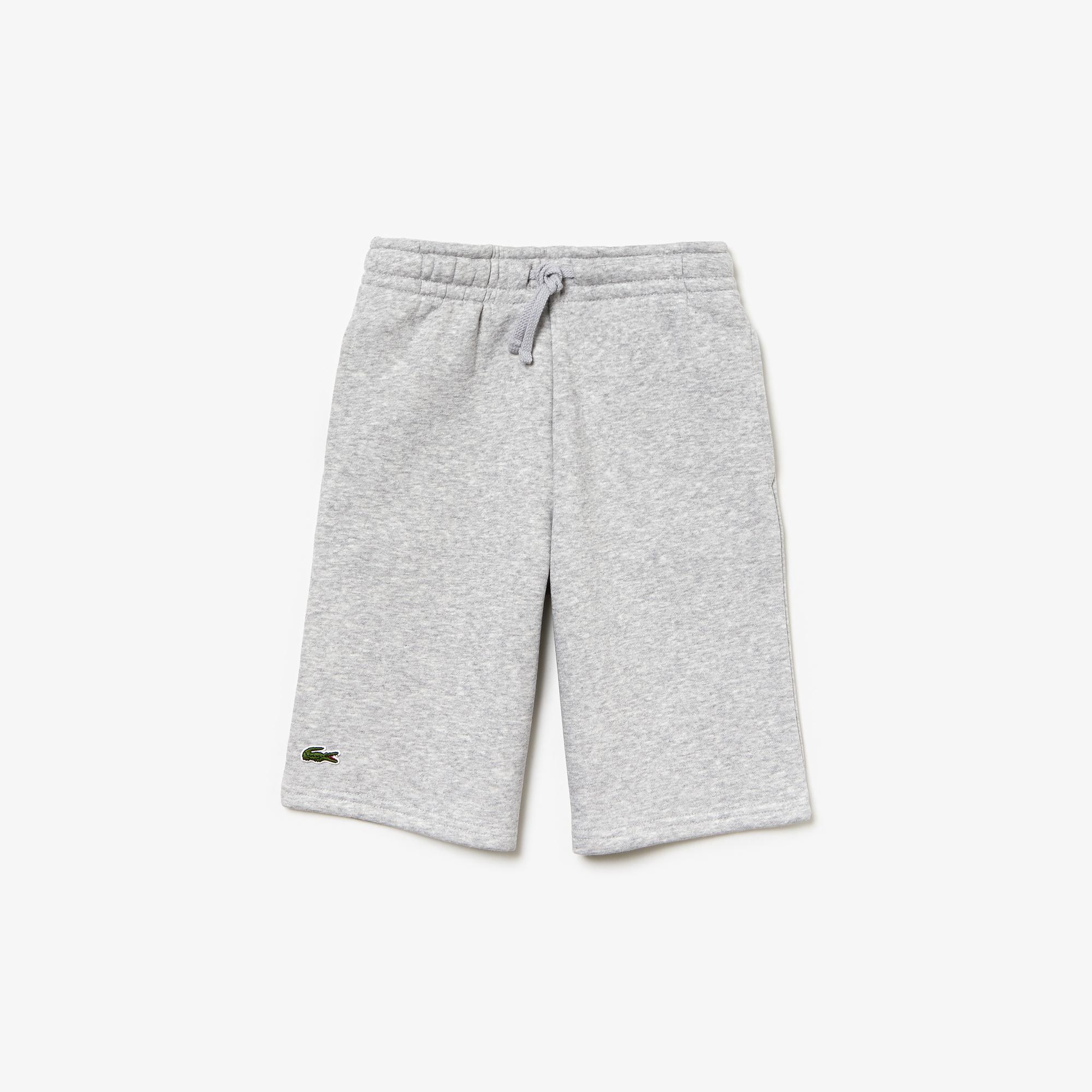 라코스테 보이즈 플리스 스웻팬츠 Lacoste Boys SPORT Fleece Sweatpants,Black - 031