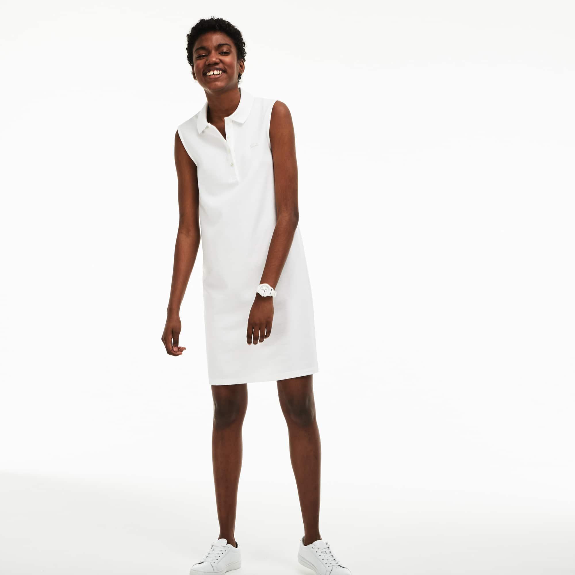 ce567bcf5789f2 New. Women s Micro Piqué Polo Dress