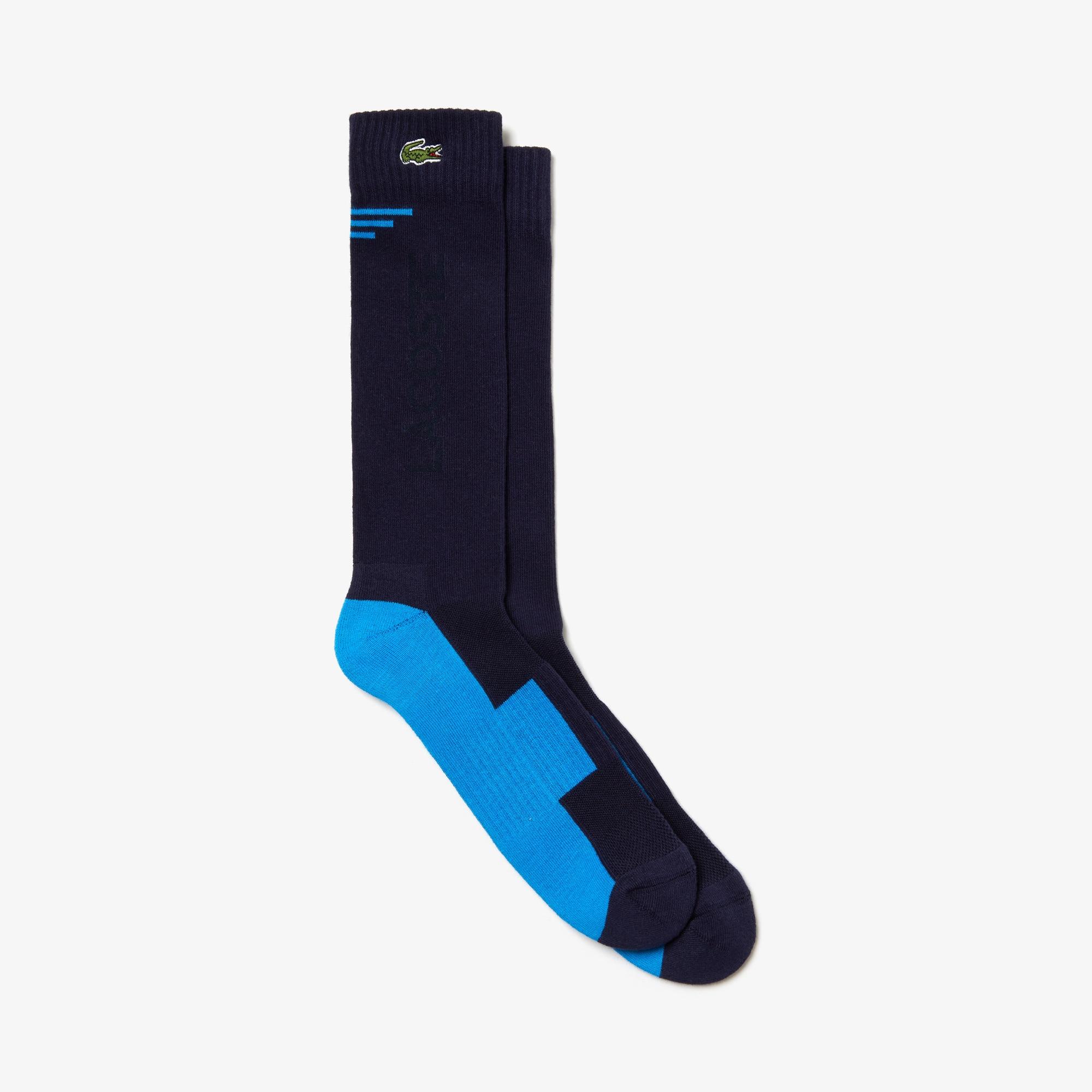 Men's Lacoste SPORT Lettering Stretch Jersey Tennis Socks