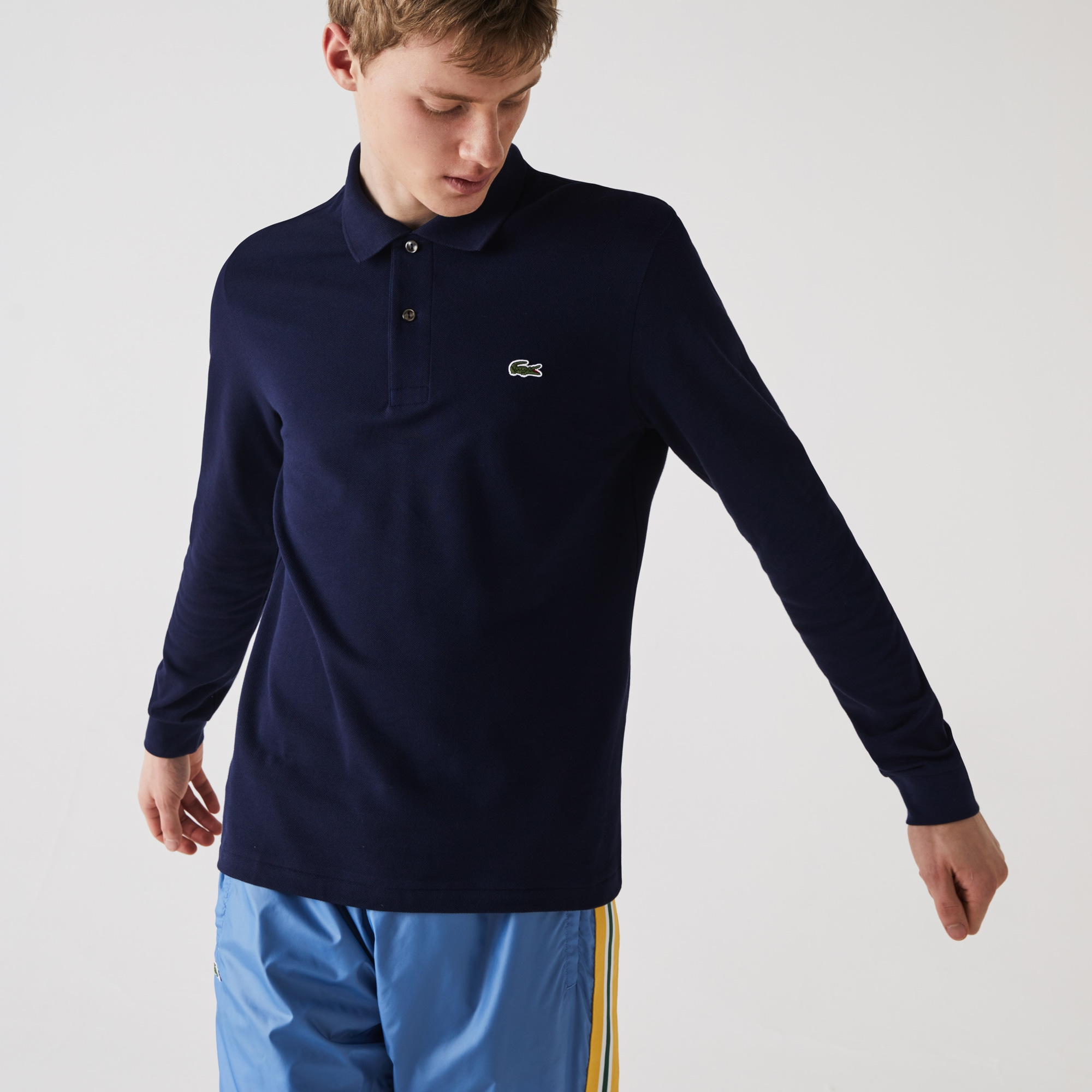 Men's Long-Sleeve L.12.12 Polo Shirt