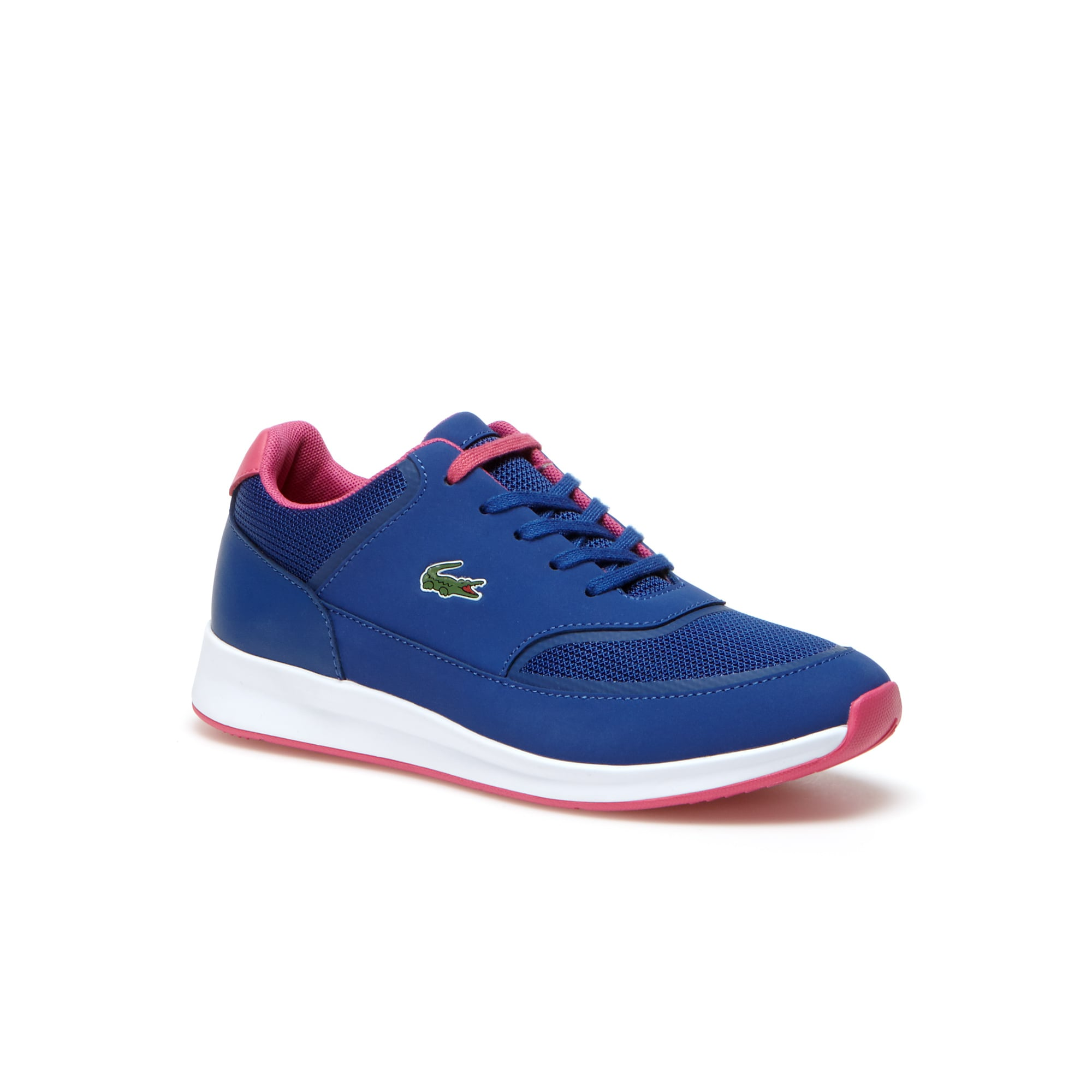 Women's Chaumont Lace Bi-Material Technical Canvas Sneakers
