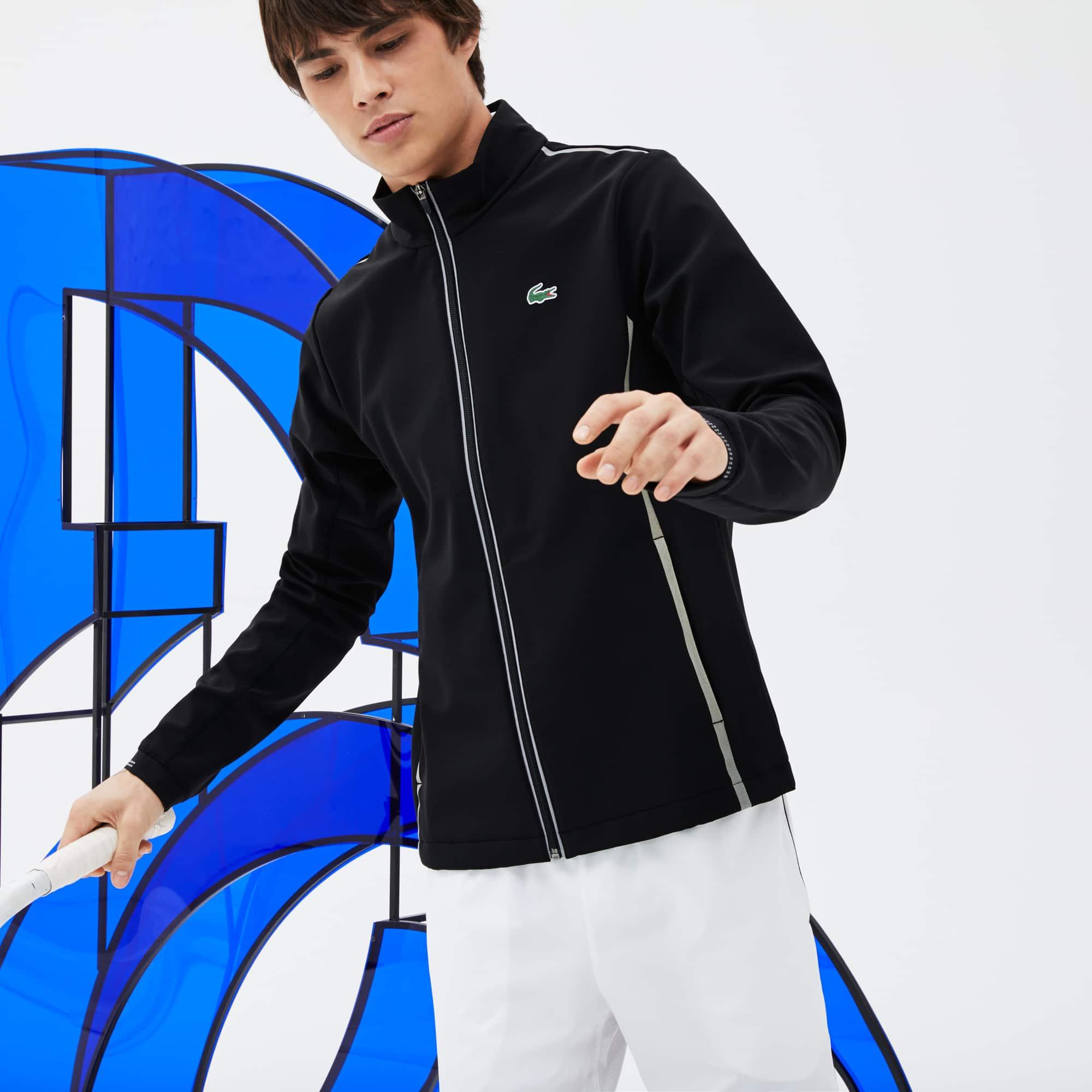 Men's Lacoste SPORT Technical Midlayer Zip Sweatshirt - Novak Djokovic Supporter Collection