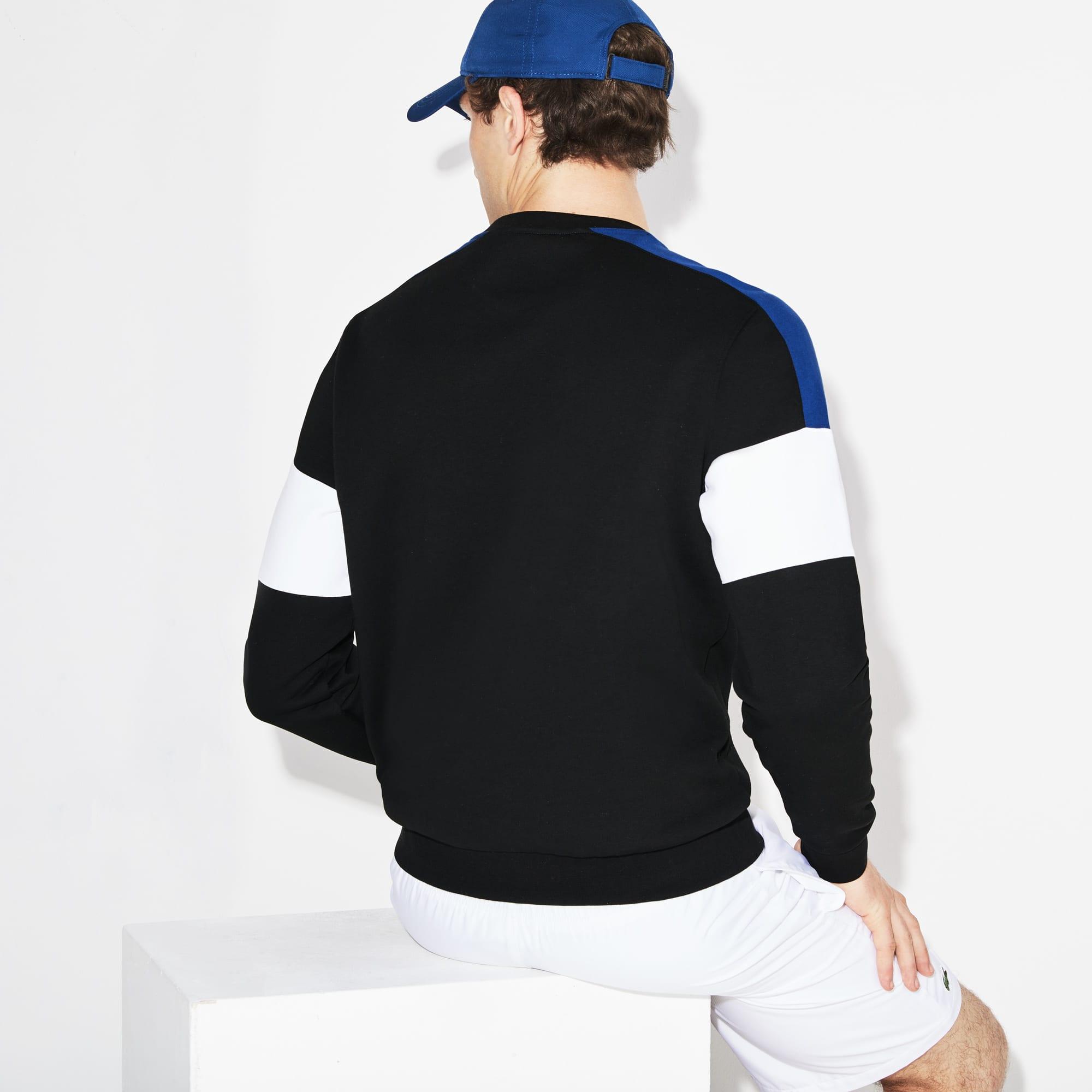 Sport Sweatshirt Men's Colorblock Fleece Tennis N8n0wm