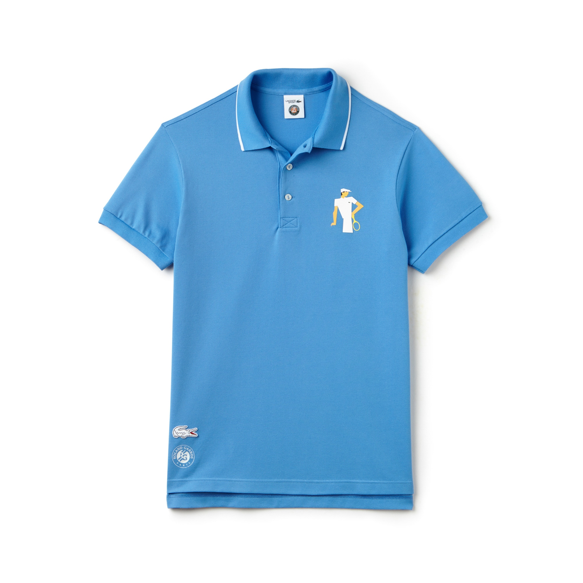 Men's SPORT French Open Player Print Polo Shirt