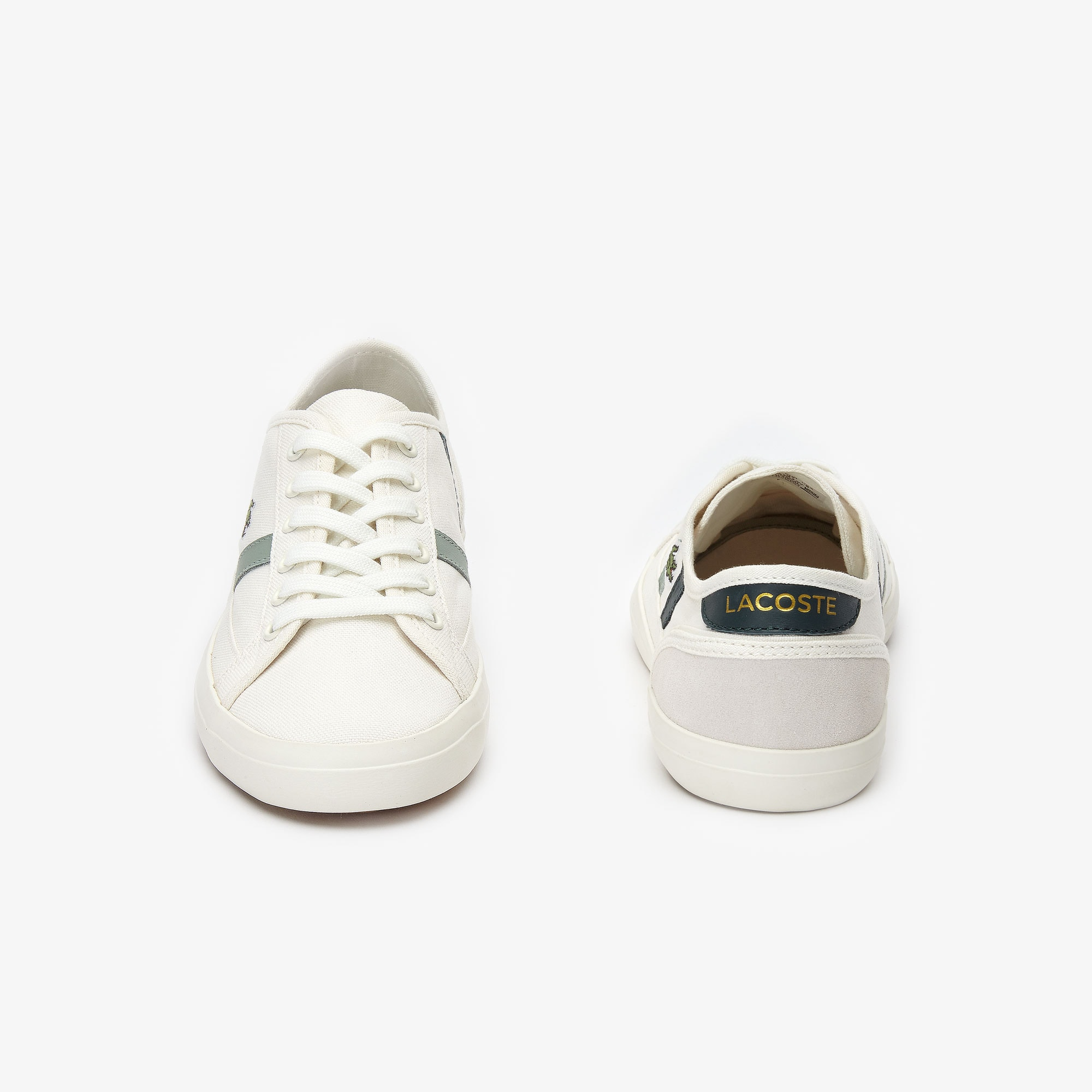 Women's Sideline Canvas and Leather Sneakers