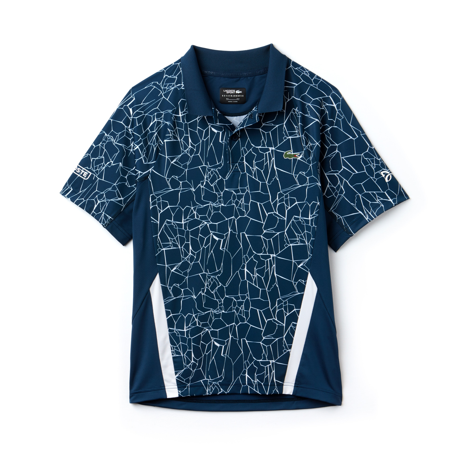 Men's SPORT Print Technical Jersey Polo -  x Novak Djokovic On Court Premium Edition