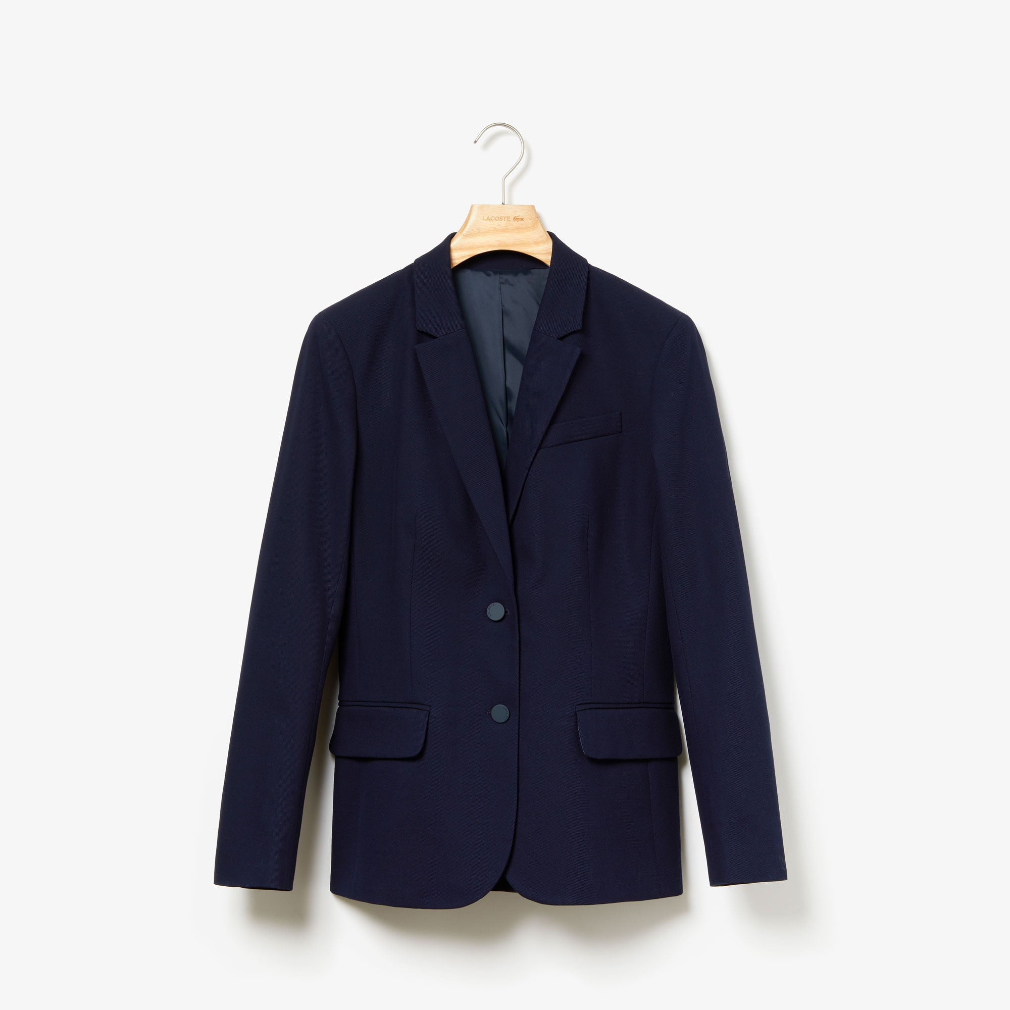 Women's Fitted Stretch Cotton Blazer