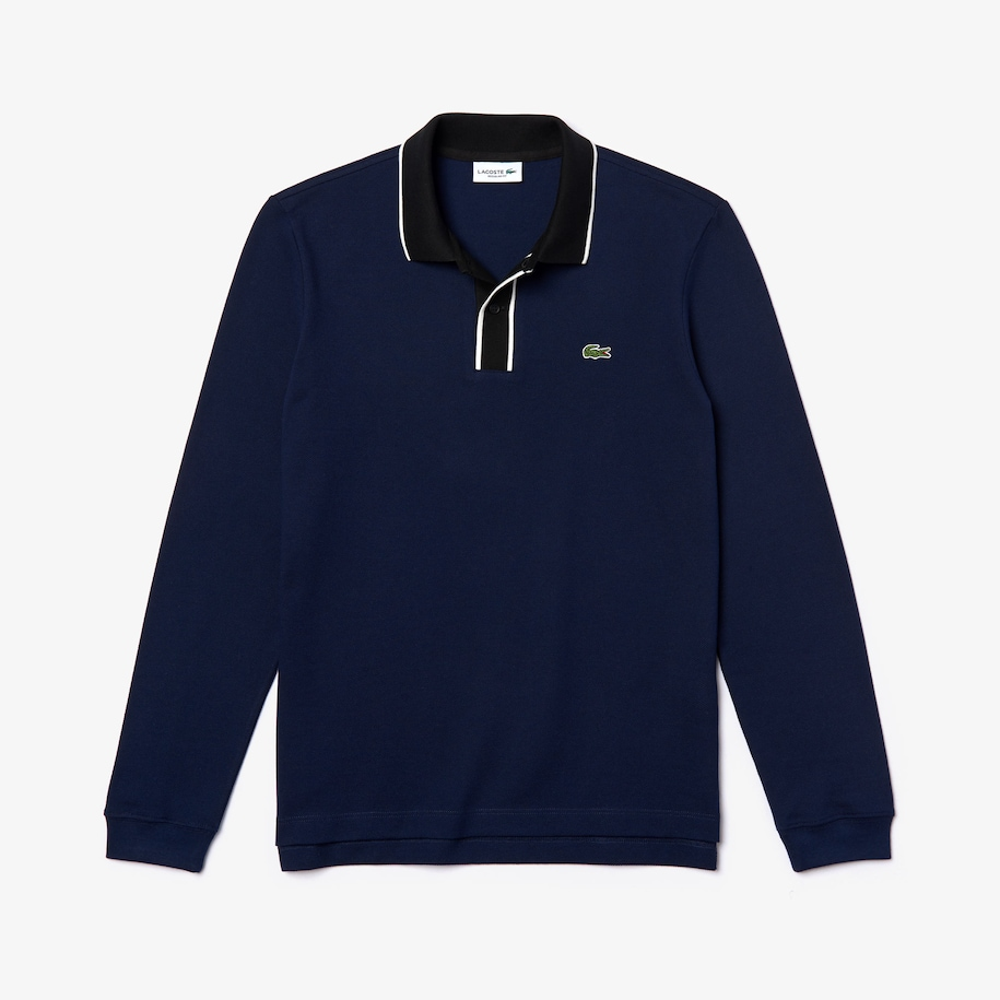 Men's Regular Fit Cotton Piqué Polo Shirt