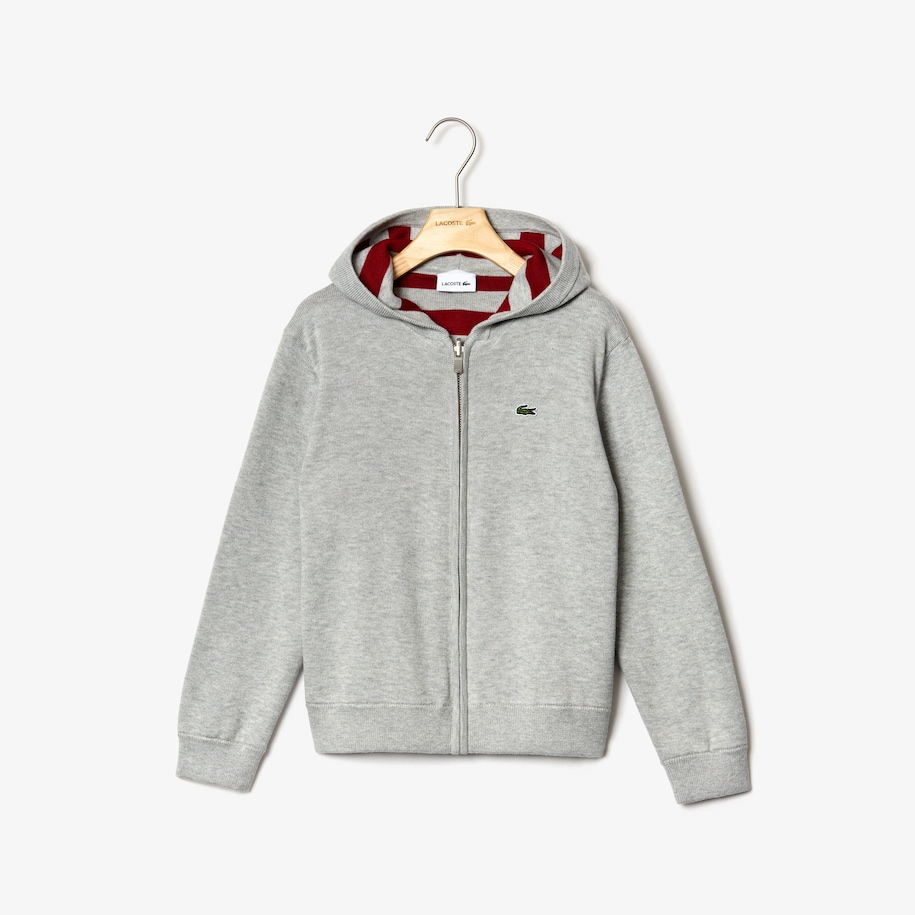 Boys' Reversible Hooded Cotton Jacket