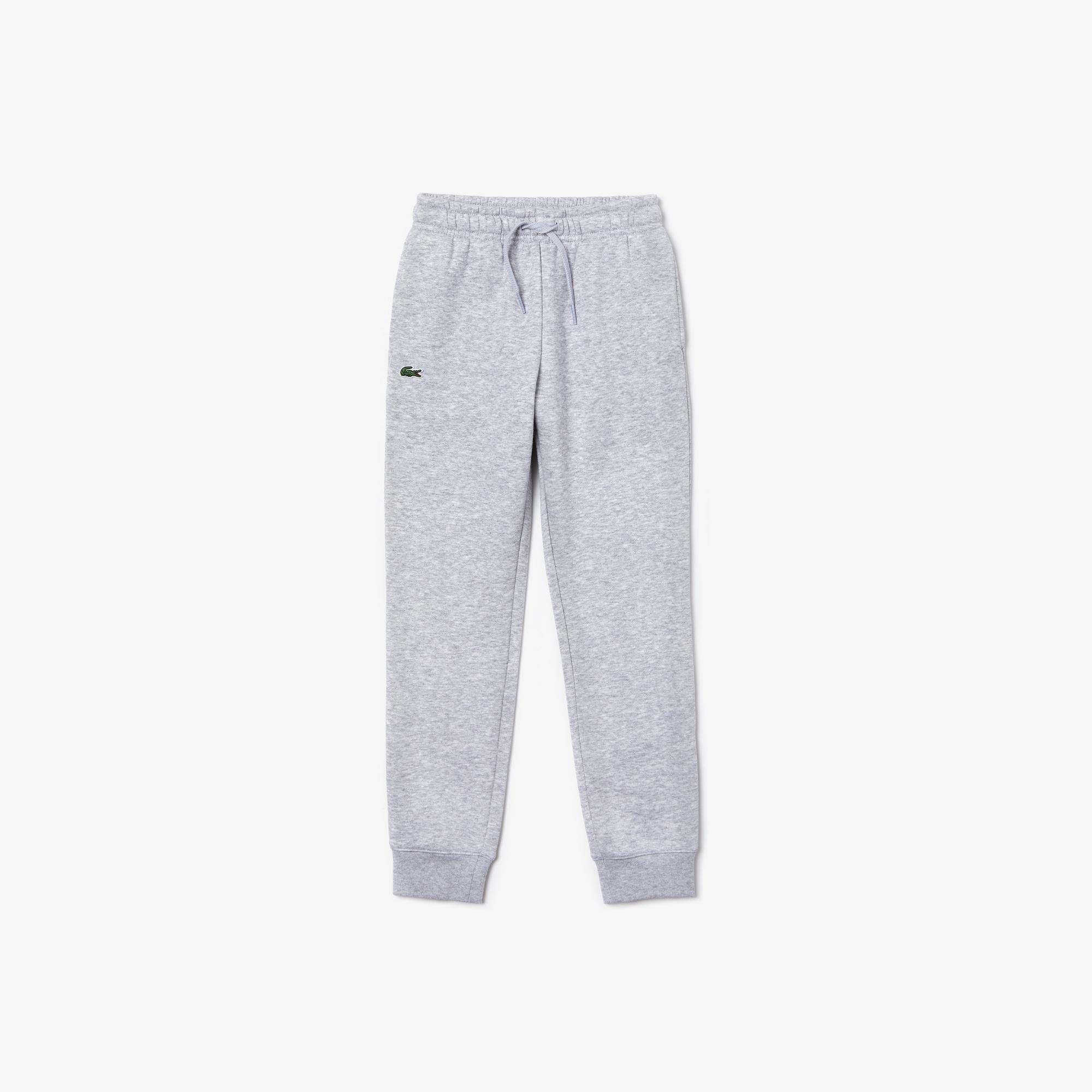 라코스테 보이즈 플리스 스웻팬츠 Lacoste Boys SPORT Fleece Sweatpants,Red - S5H