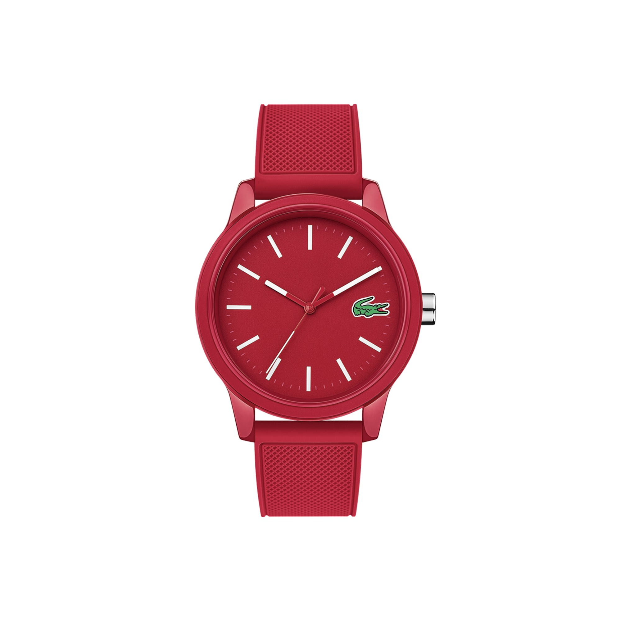 2df0b1063 Men's Lacoste 12.12 Watch with Green Silicone Strap. $95.00. Sport Edition