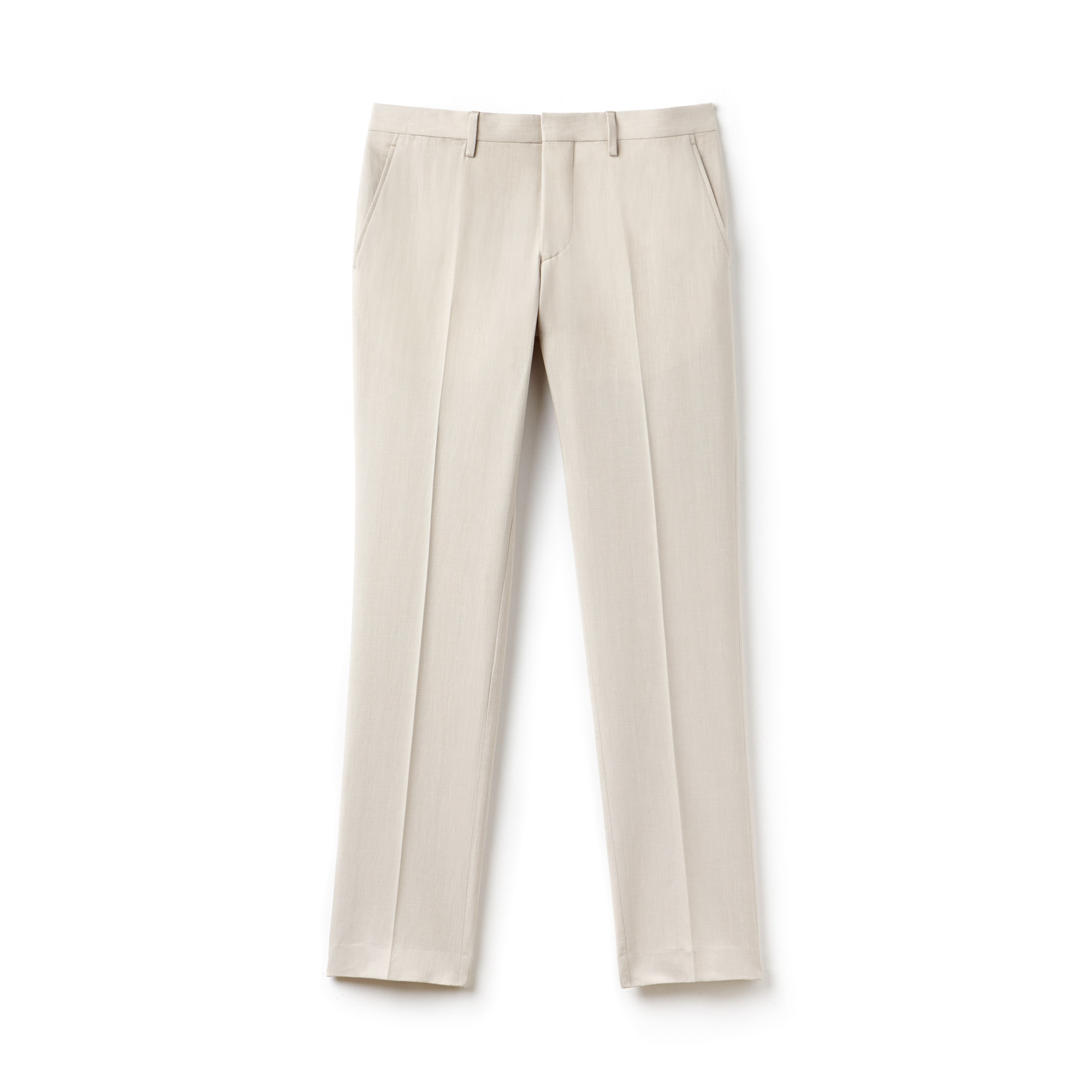 Men's Slim Fit Pleated Pants