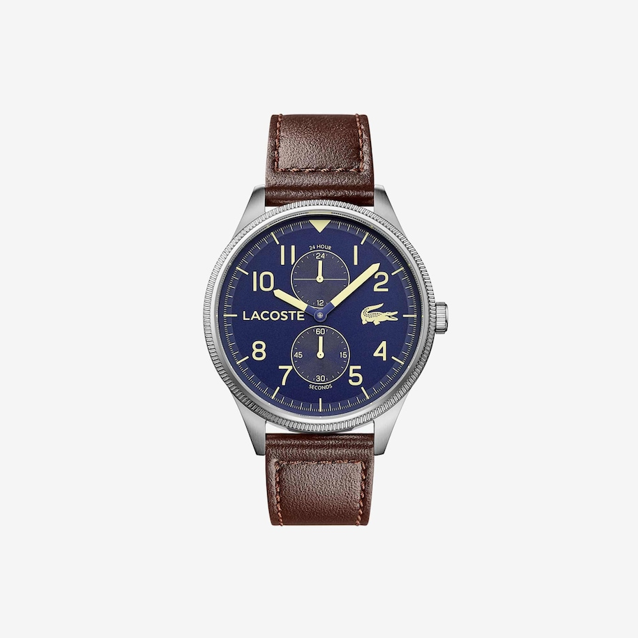 Men's Continental With Brown Leather Strap