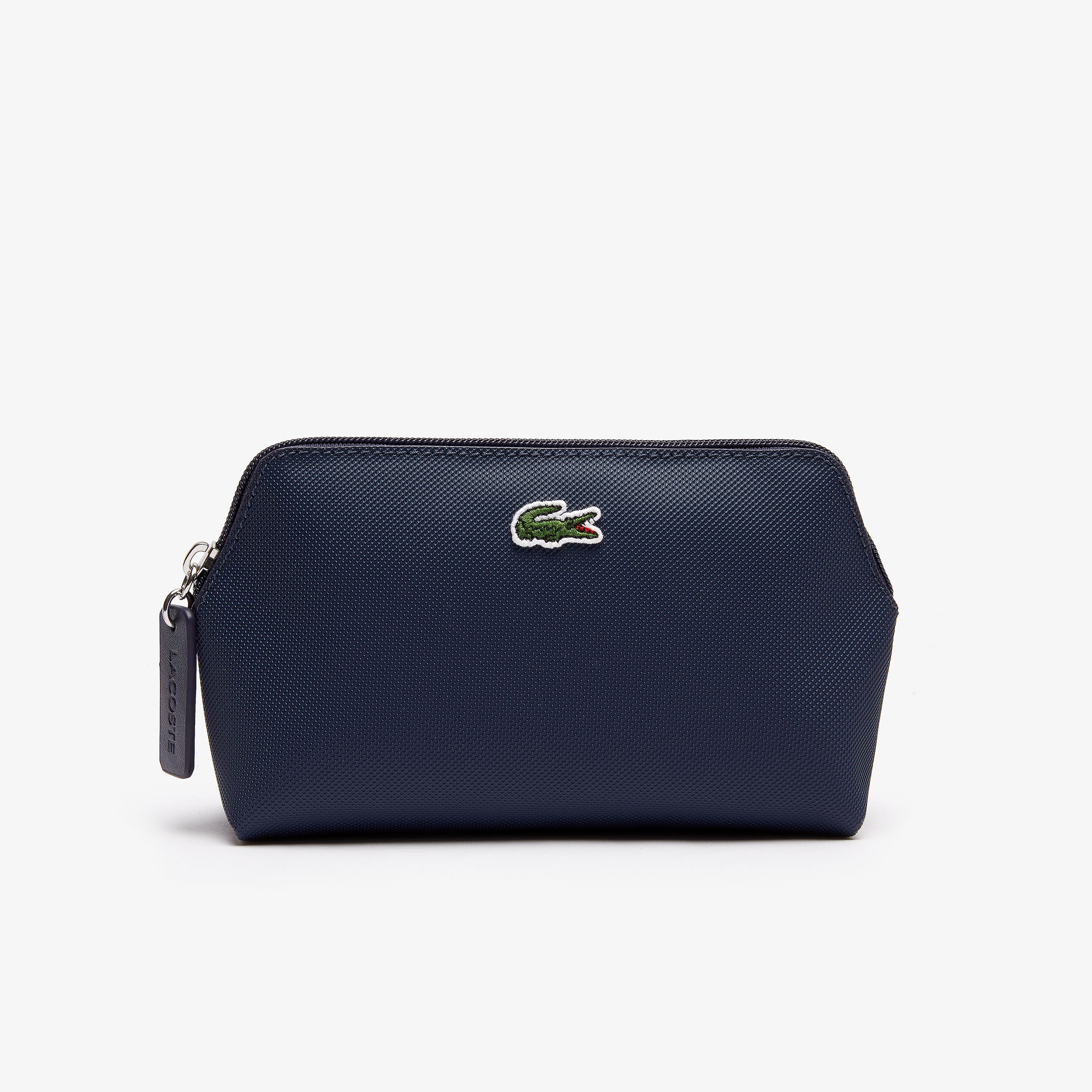 라코스테 Lacoste Womens L.12.12 Concept Petit Pique Makeup Bag,eclipse