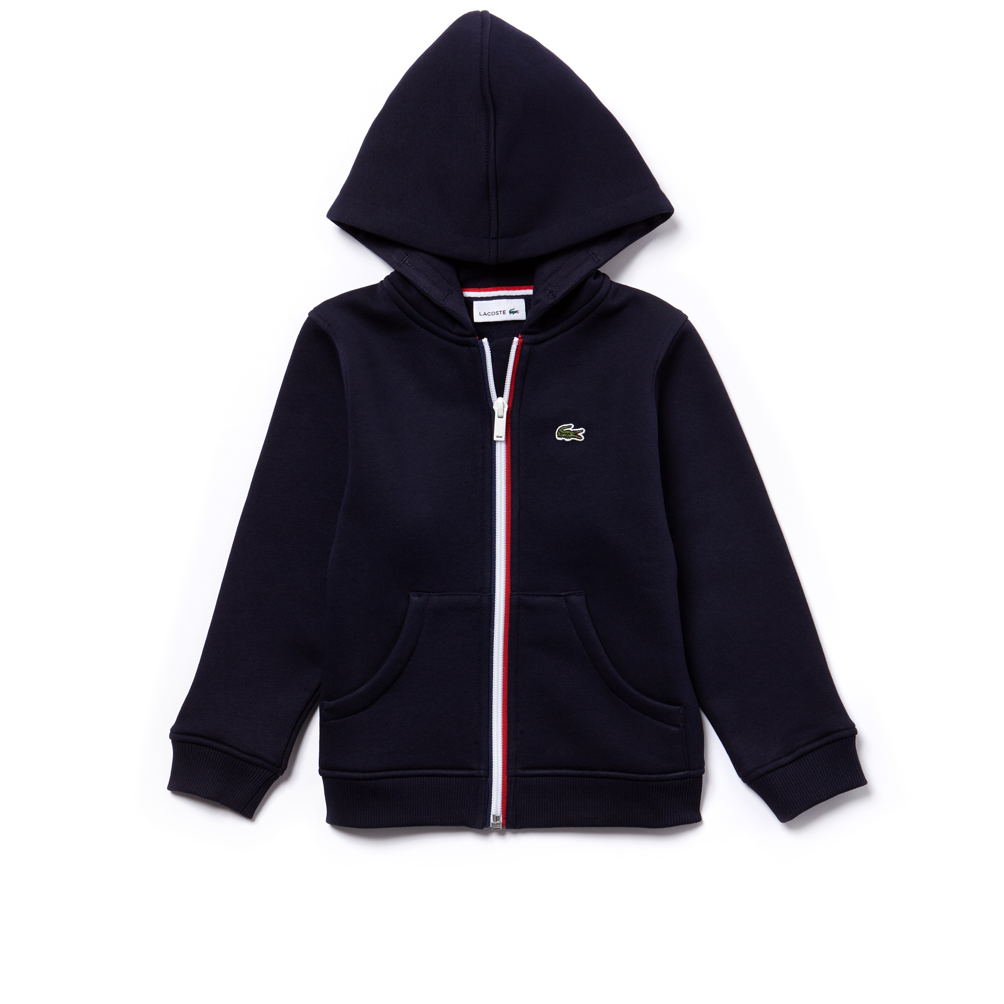 Kid's Fleece Zip-Up Hooded Sweatshirt