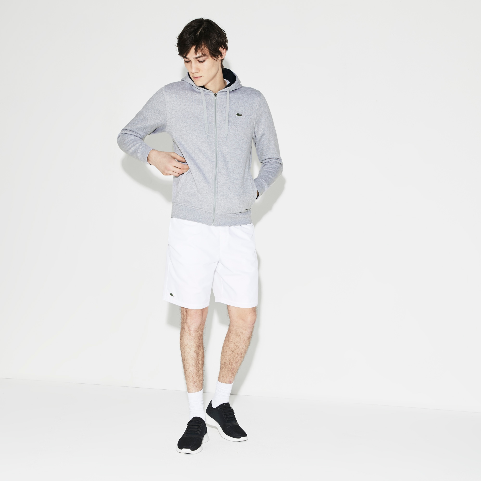 Men's SPORT Tennis Fleece Zip Up