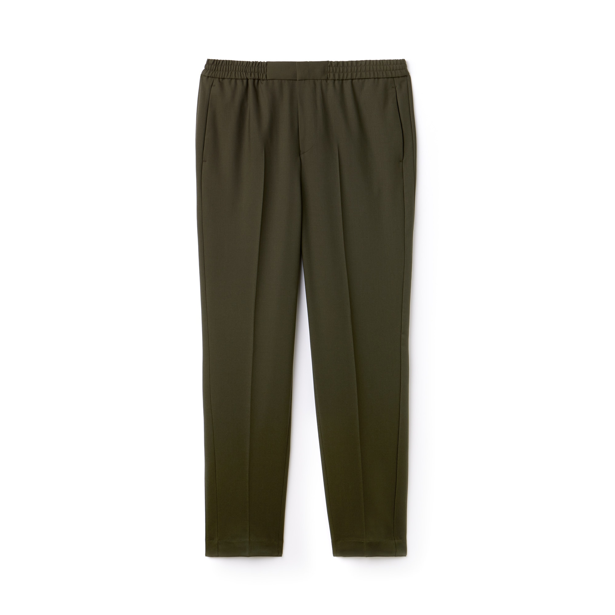 Men's Motion Pleated Stretch Wool Twill Chino Pants