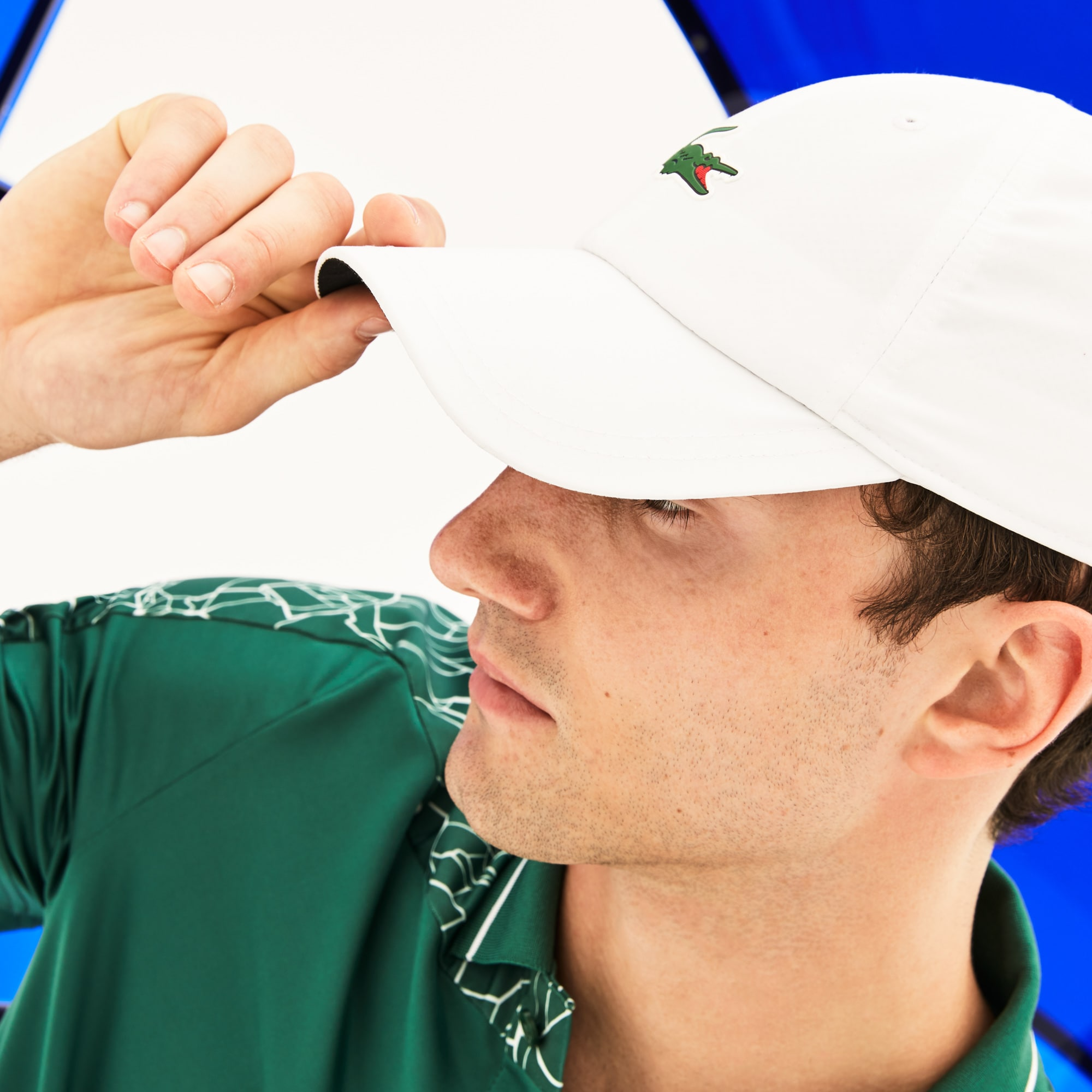 Men's SPORT Microfiber Cap -  x Novak Djokovic On Court Premium Edition