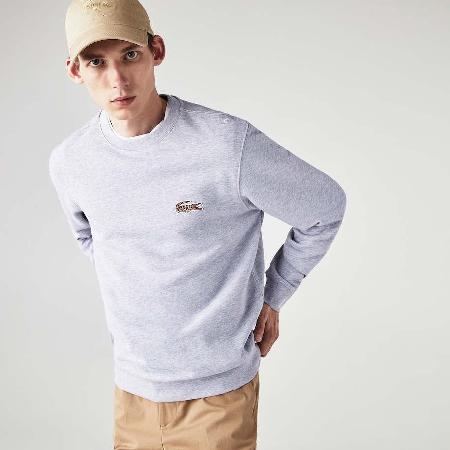 Men's Lacoste x National Geographic Organic Cotton Sweatshirt
