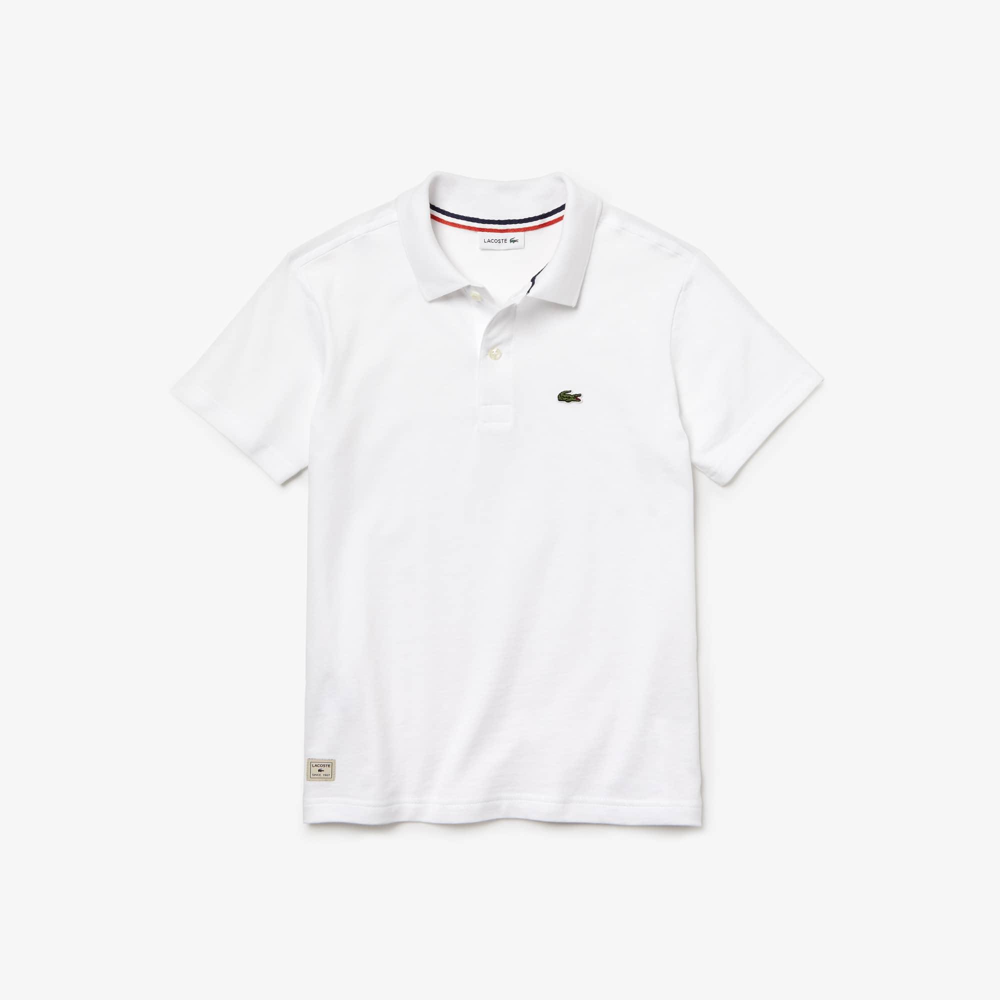 Boys'  Cotton Jersey Polo Shirt