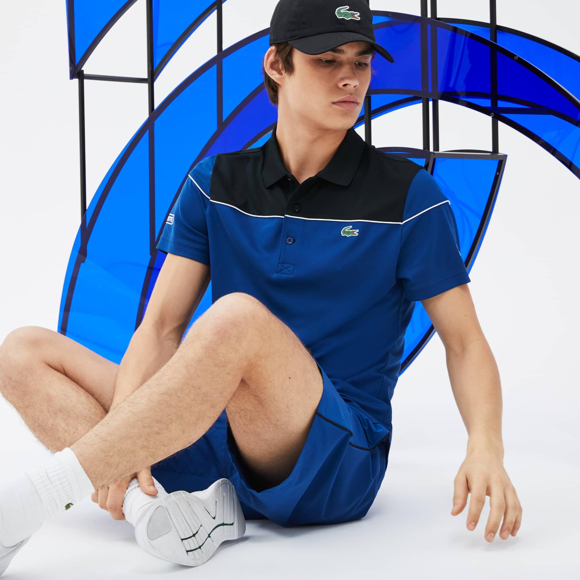 Men's SPORT Colorblock Tech Piqué Polo - x Novak Djokovic