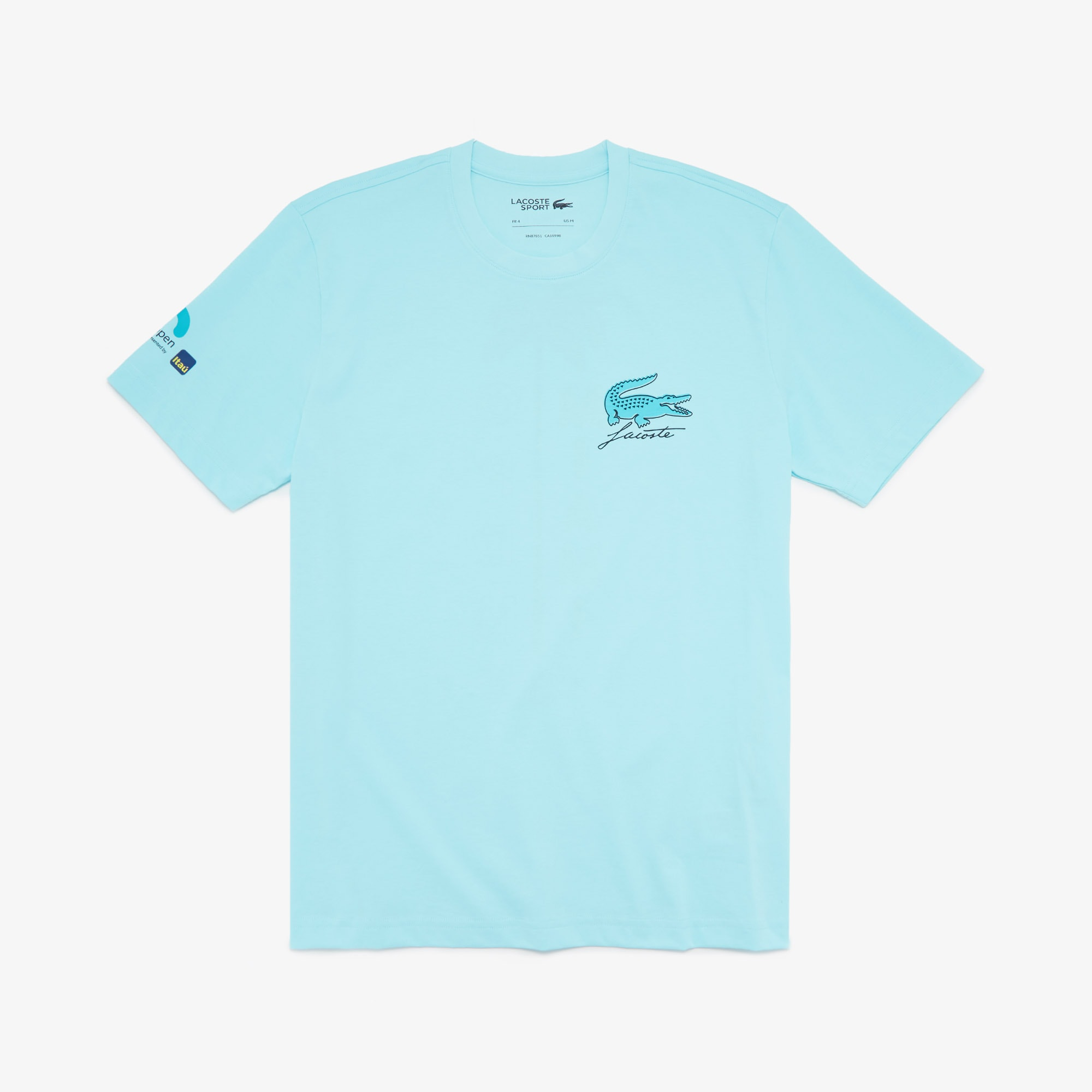 Lacoste Mens Sport Graphic T