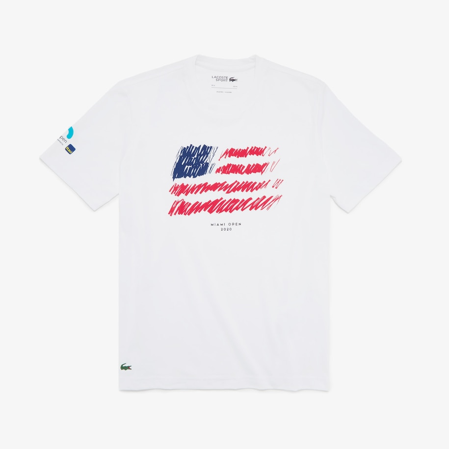 Men's SPORT Miami Open Flag Print T-shirt