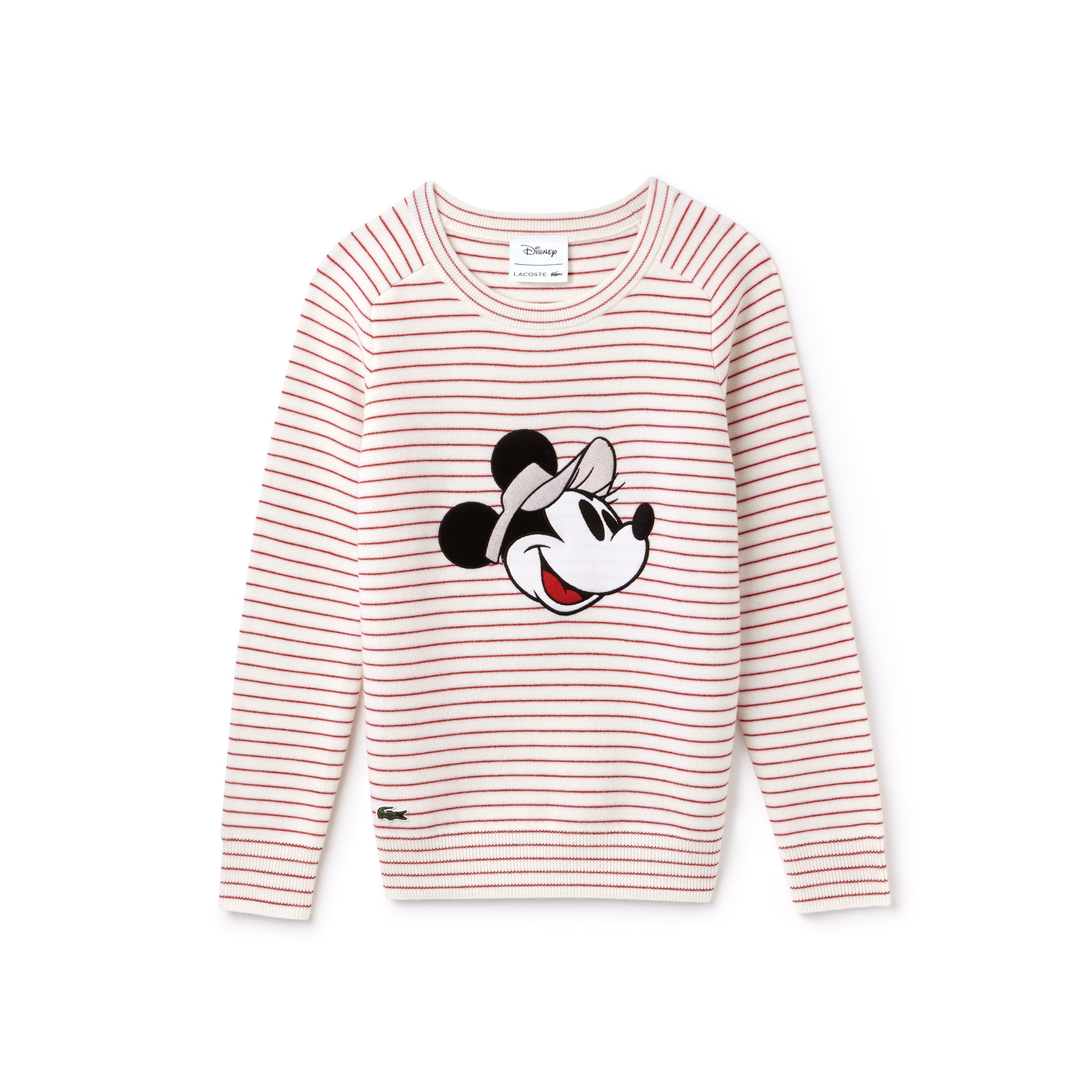 Pull col rond  avec broderie Minnie Collab Disney