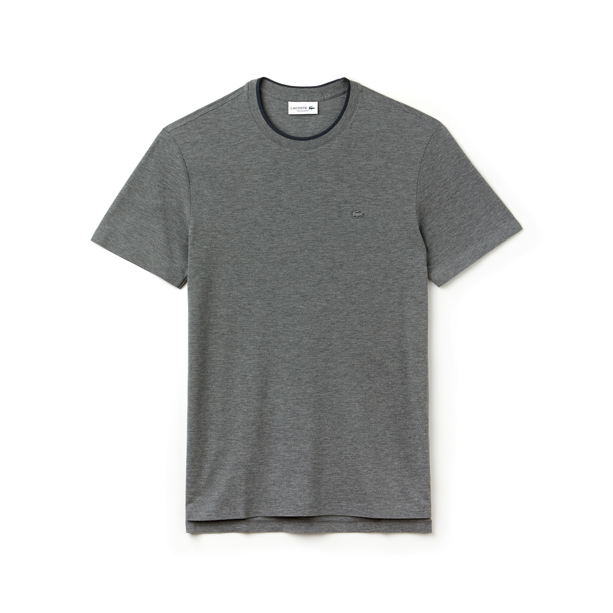 Men's Crew Neck MOTION Pima Cotton Piqué T-shirt
