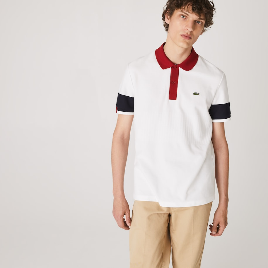 Men's Lacoste Made in France Regular Fit Organic Cotton Polo Shirt