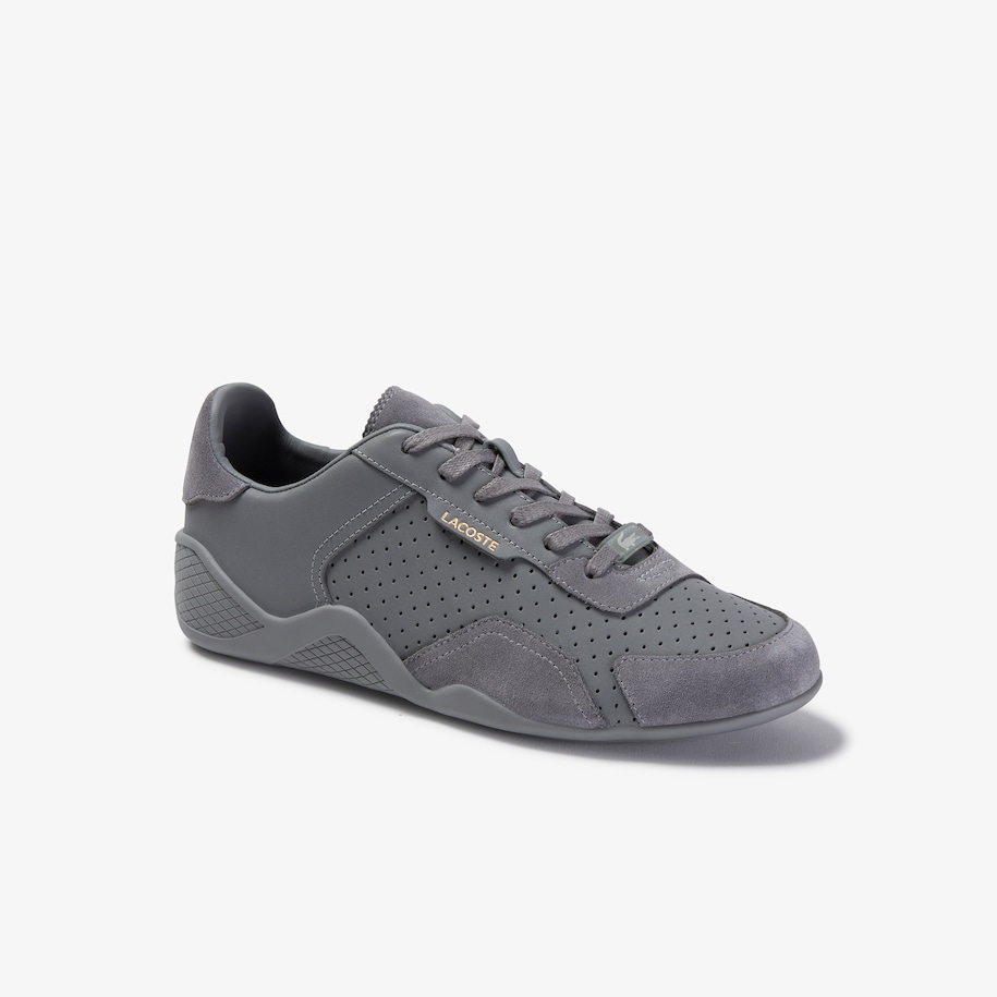 Women's Hapona Leather and Suede Sneakers