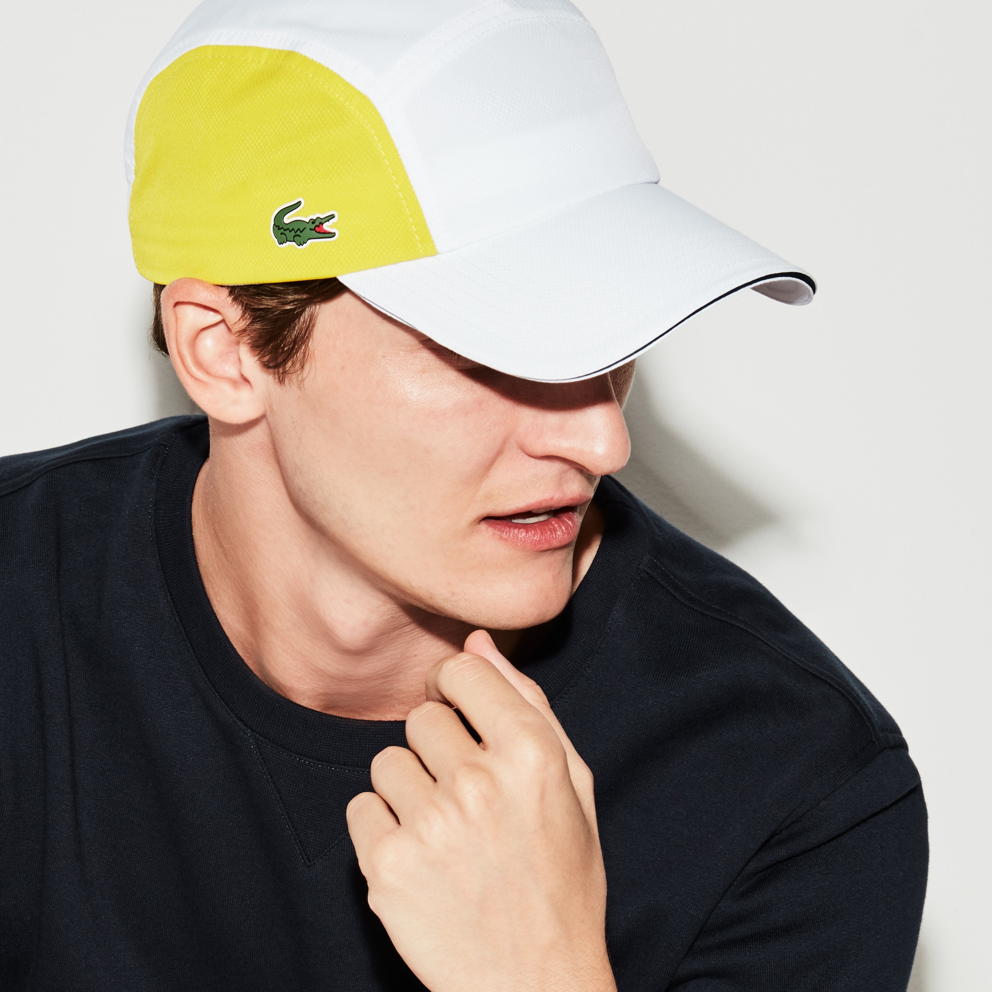 Men's  SPORT Tennis Colorblock Taffeta Cap