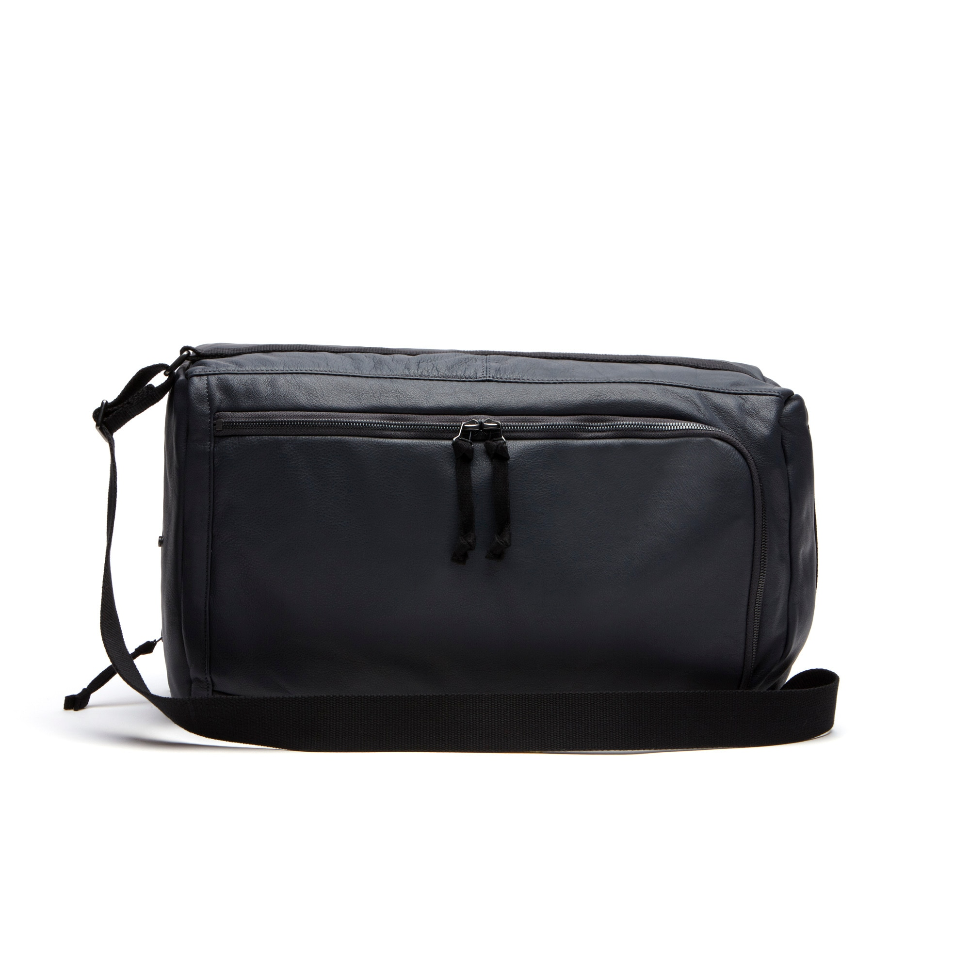 Men's Fashion Show Dual Carry Leather Backpack