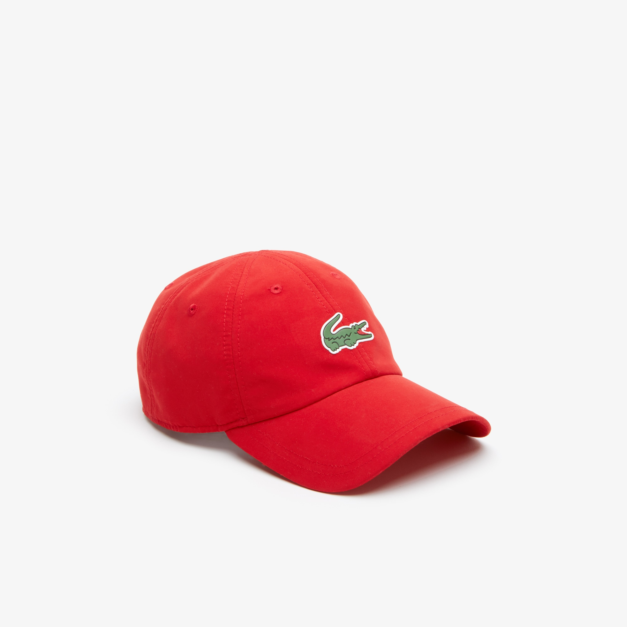 라코스테 Lacoste Mens SPORT Tennis Microfiber Crocodile Cap,red