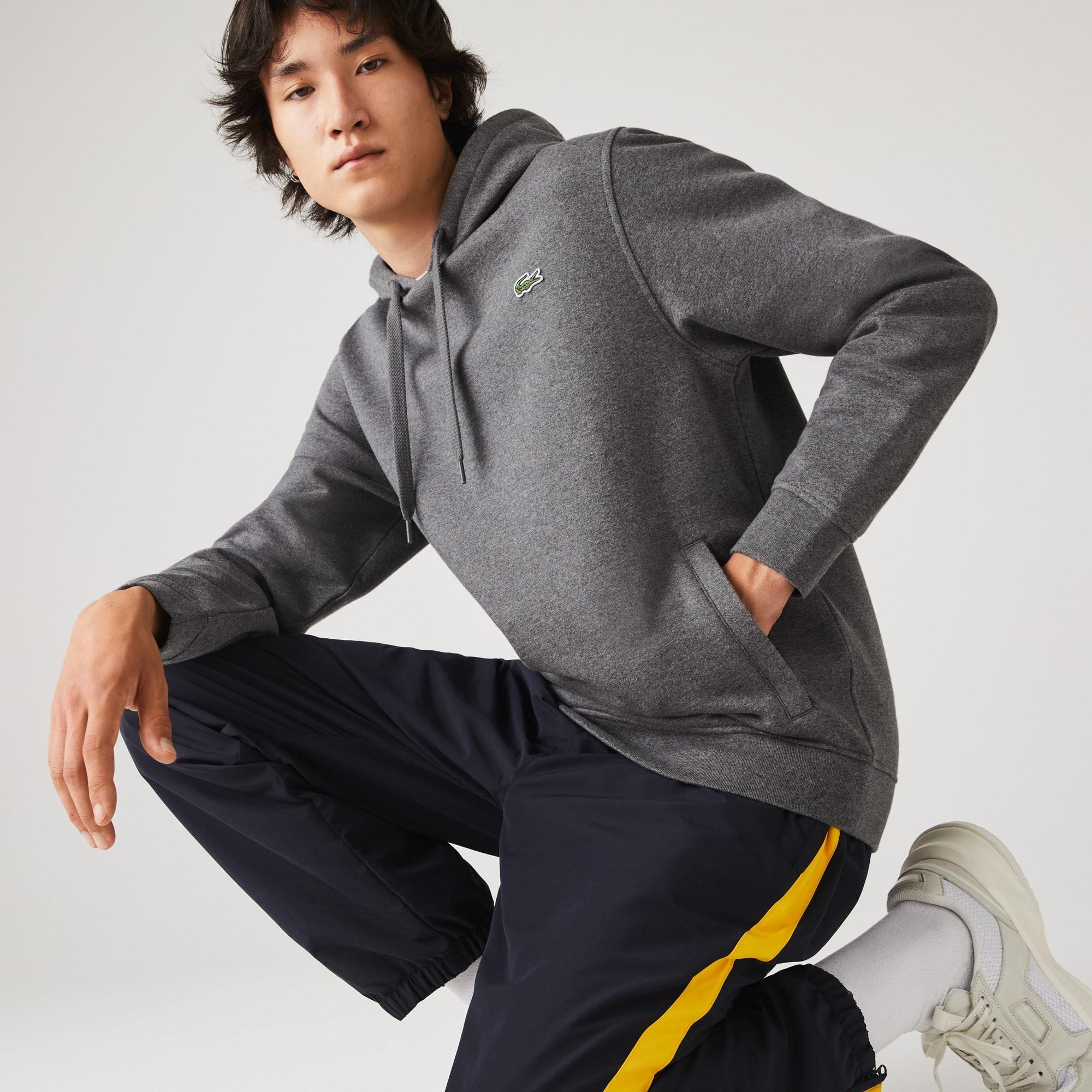 라코스테 스포츠 후드티 Mens Lacoste SPORT Hooded Fleece Sweatshirt