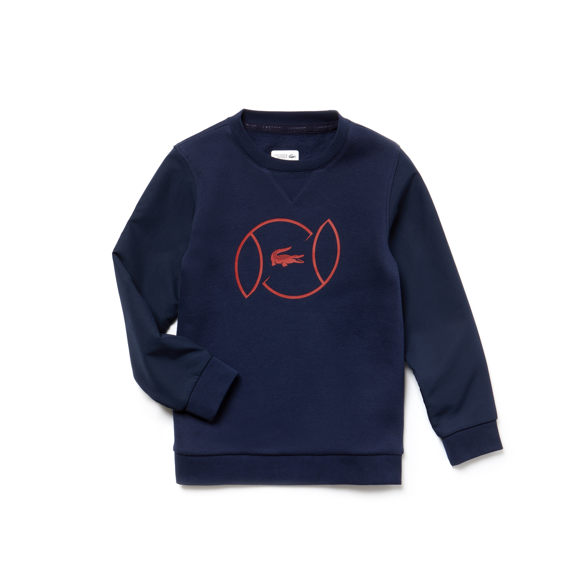Boys' SPORT Fleece And Lettering Tennis Sweatshirt