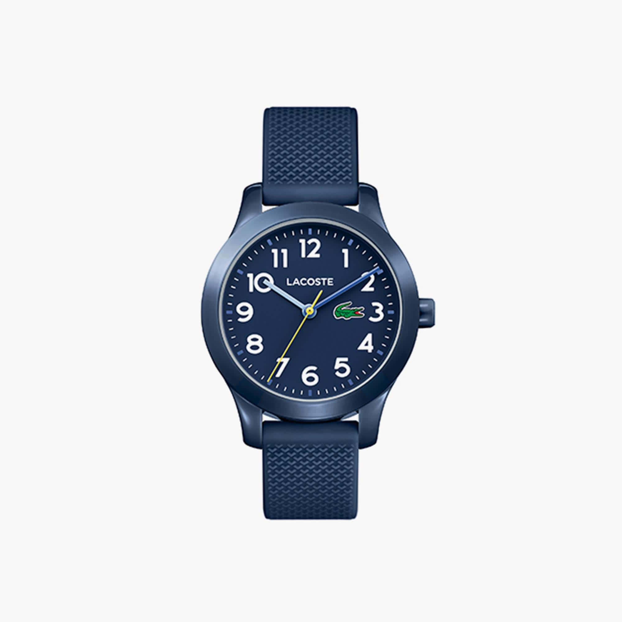 Kids Lacoste.12.12 Blue Silicon Strap