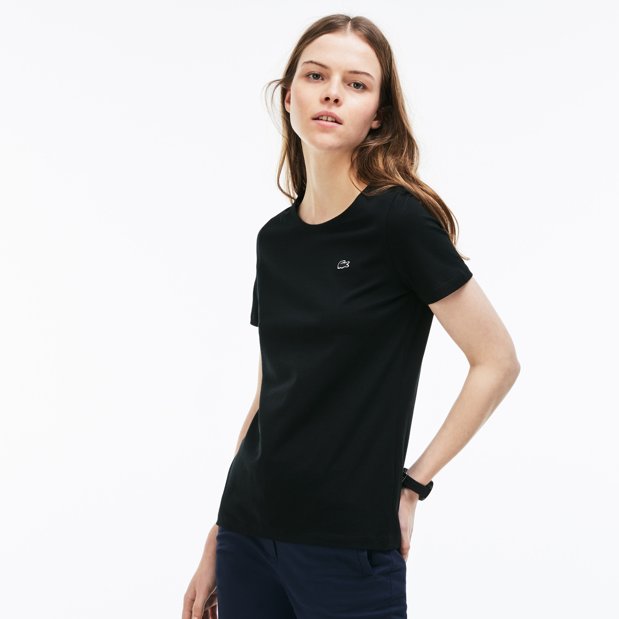Women's Crew Neck Flowing T-Shirt