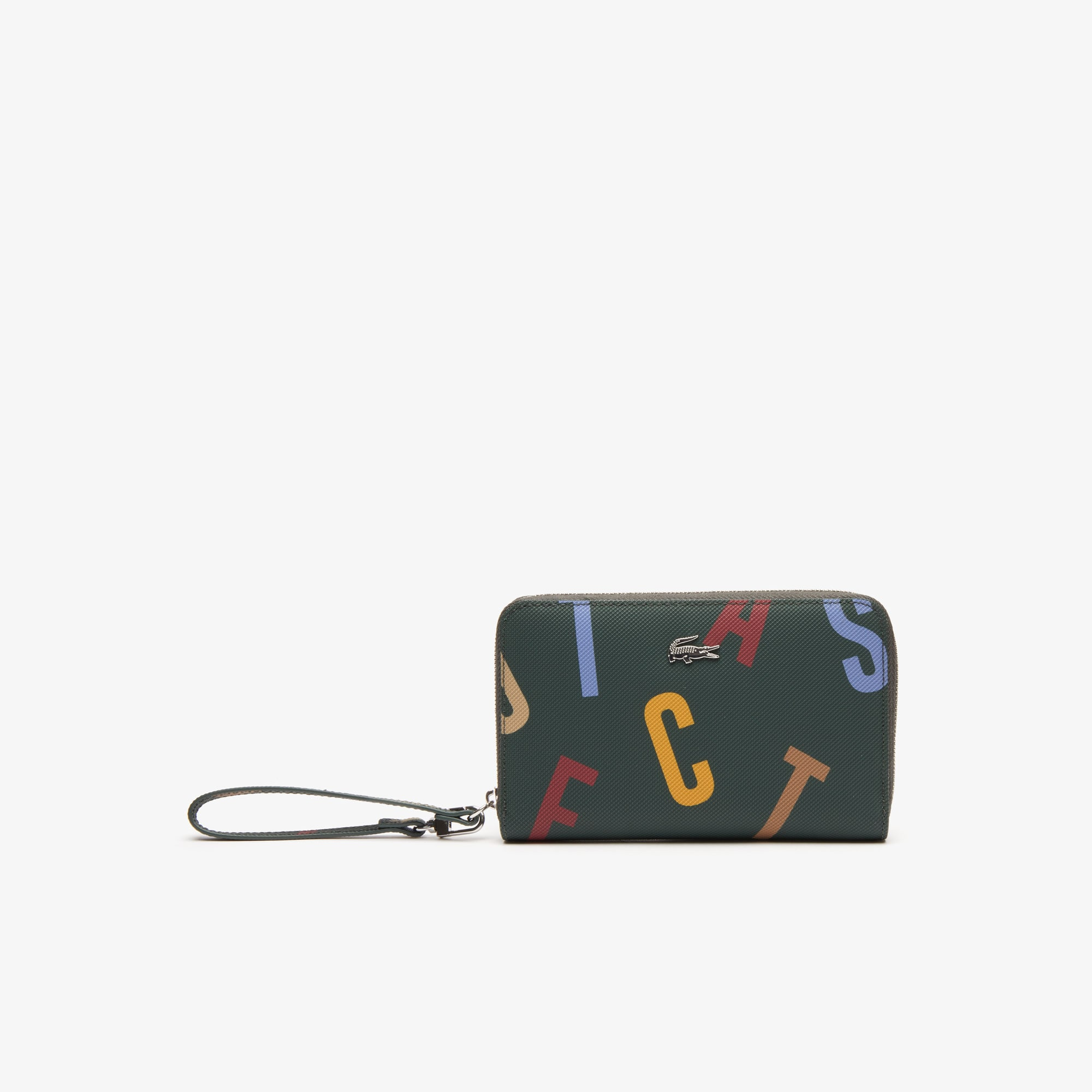 Women's Daily Classic Printed Coated Canvas Wristlet Wallet