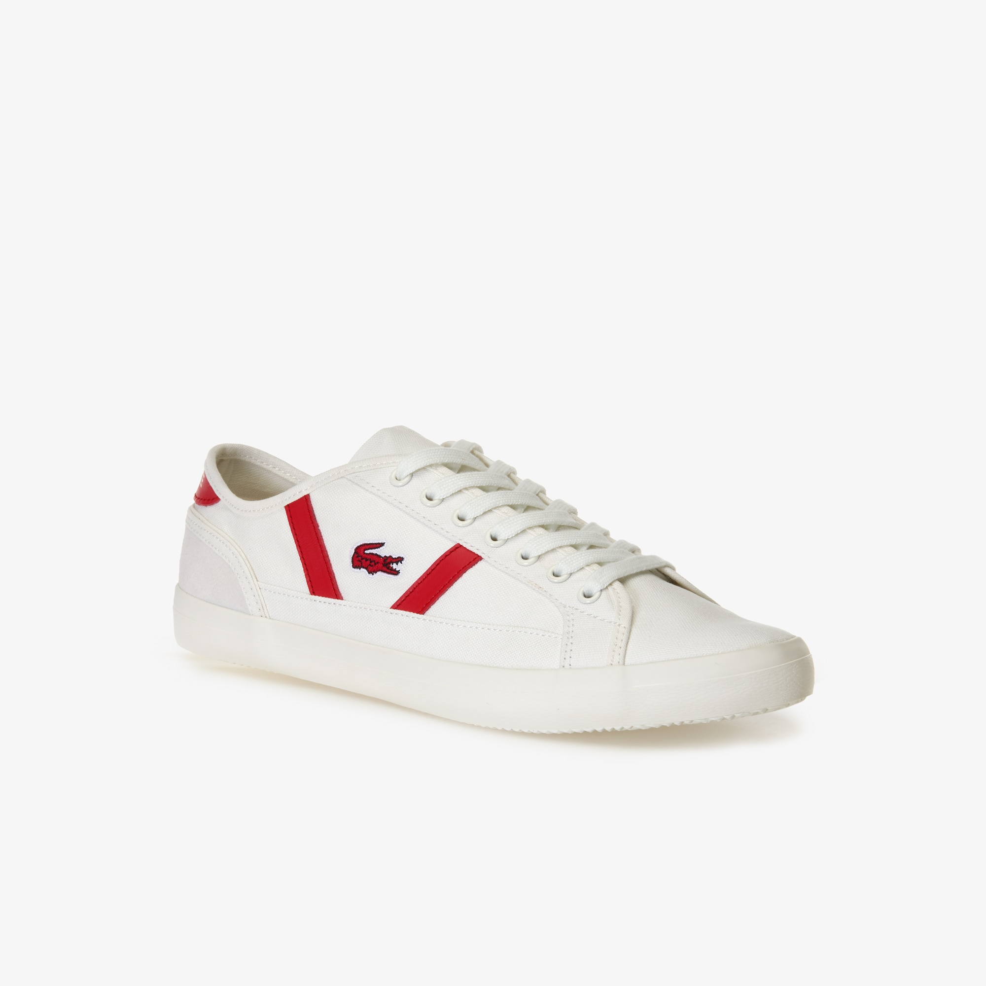 Men's Sideline Canvas and Leather Trainers
