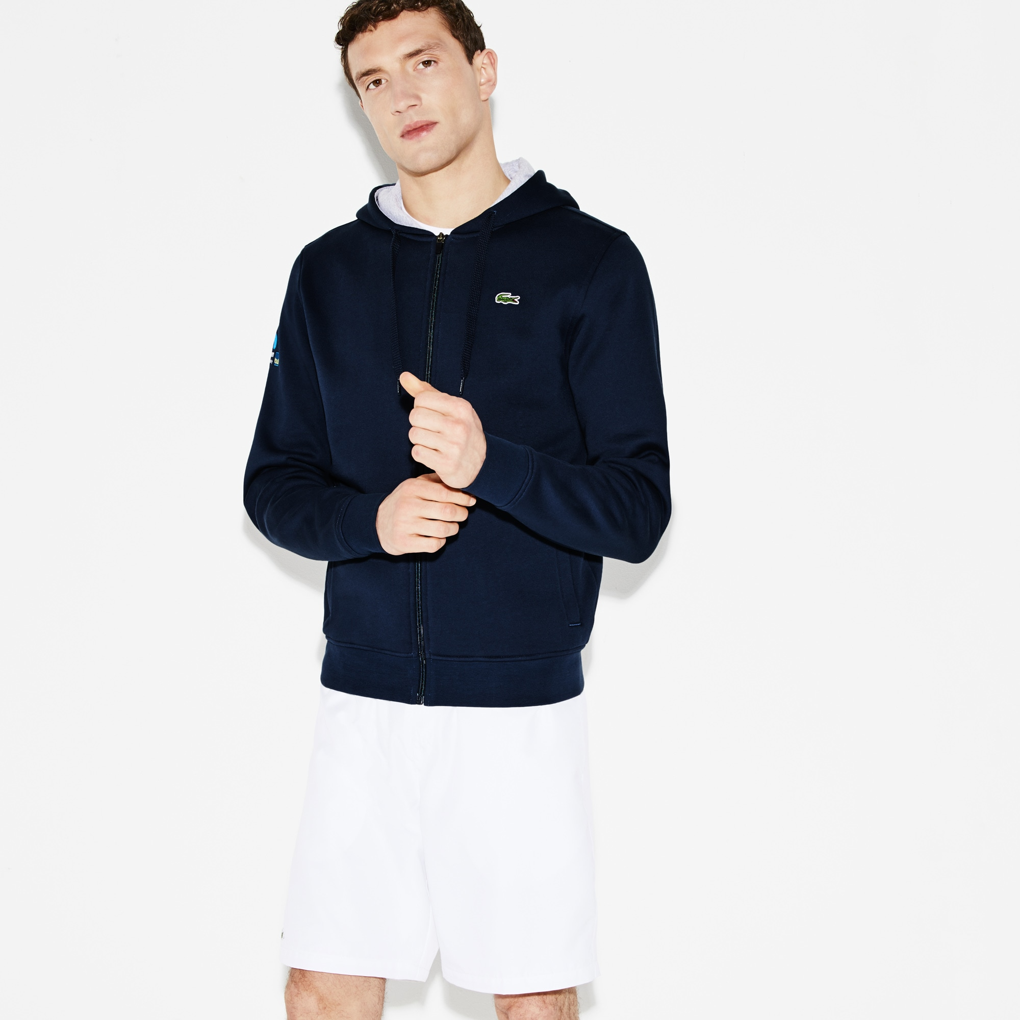 Men's SPORT Miami Open Hooded Fleece Tennis Sweatshirt
