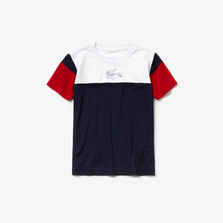 Boys' SPORT Crew Neck Tennis T-shirt
