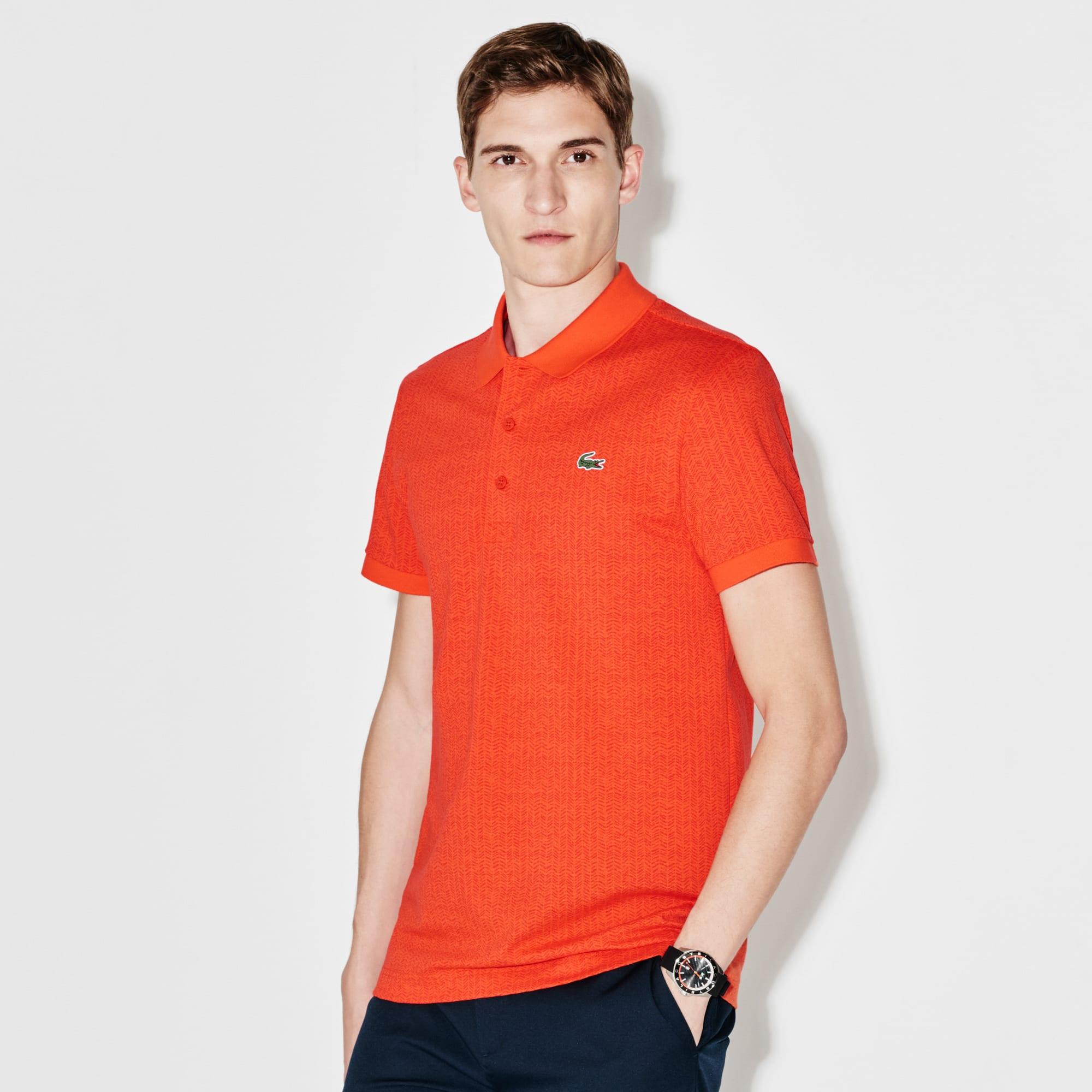 Men's  SPORT Golf Print Ultra-Lightweight Knit Polo