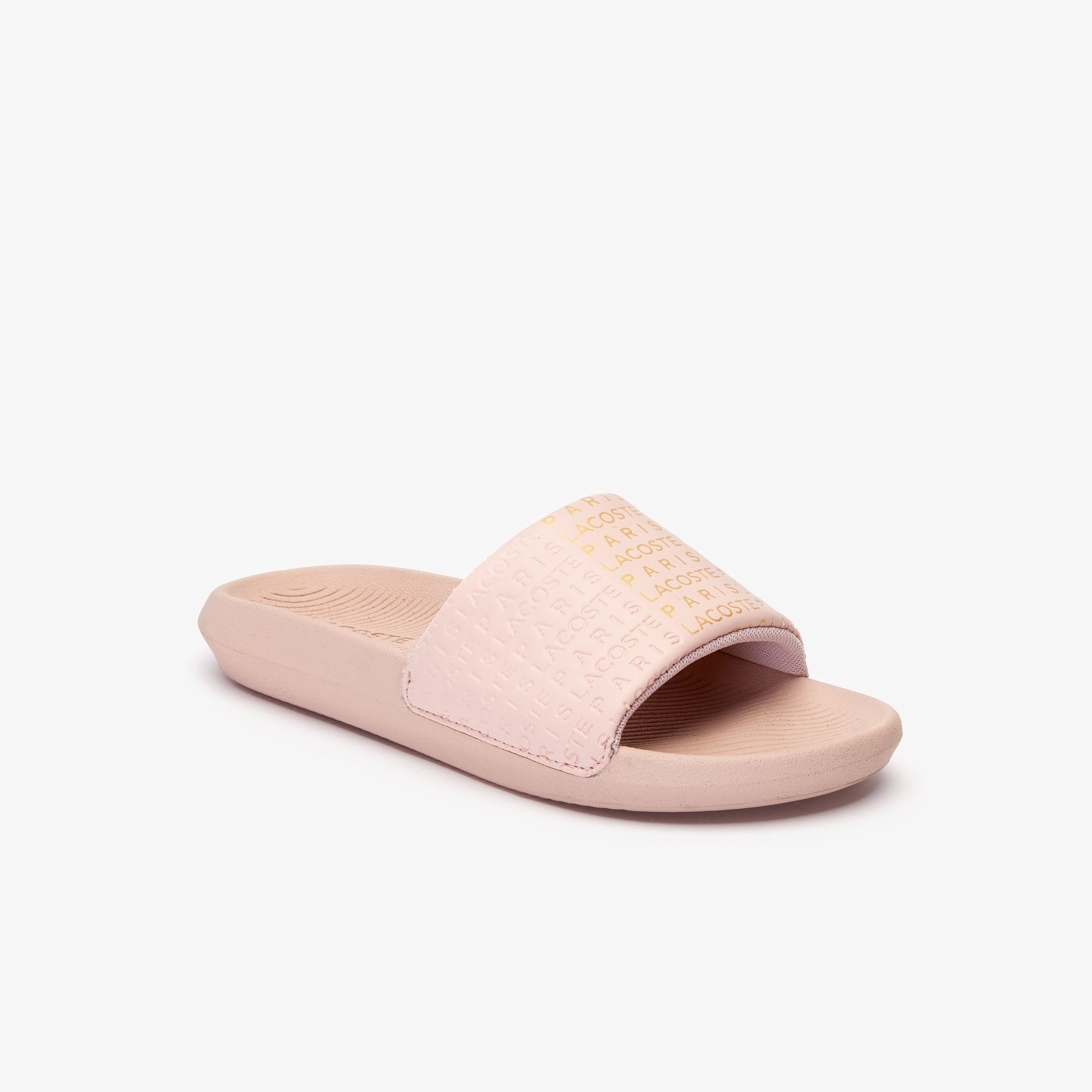 Lacoste Jewelry Women's 'Lacoste Paris' Slides