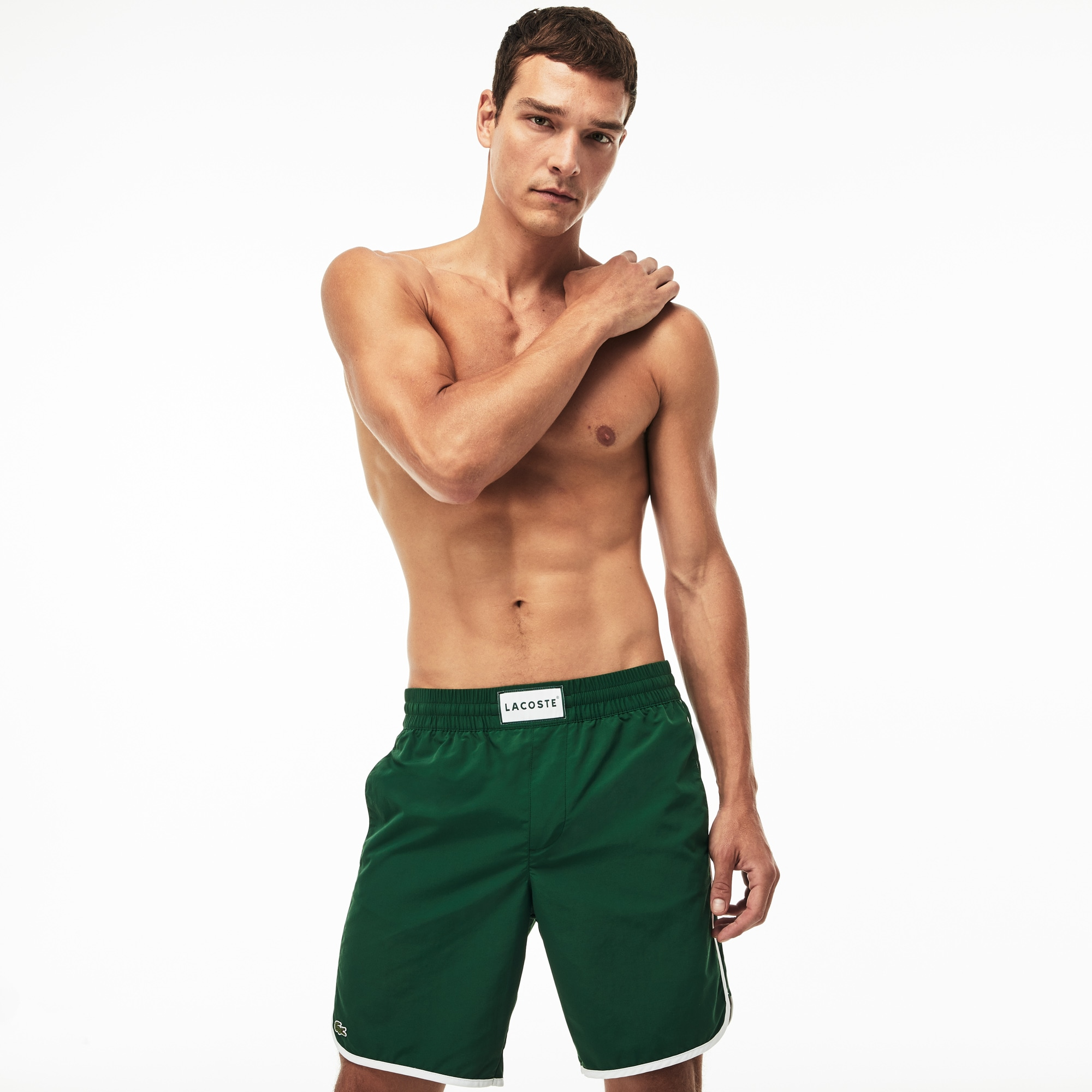 Men's Longboard Swimming Trunks
