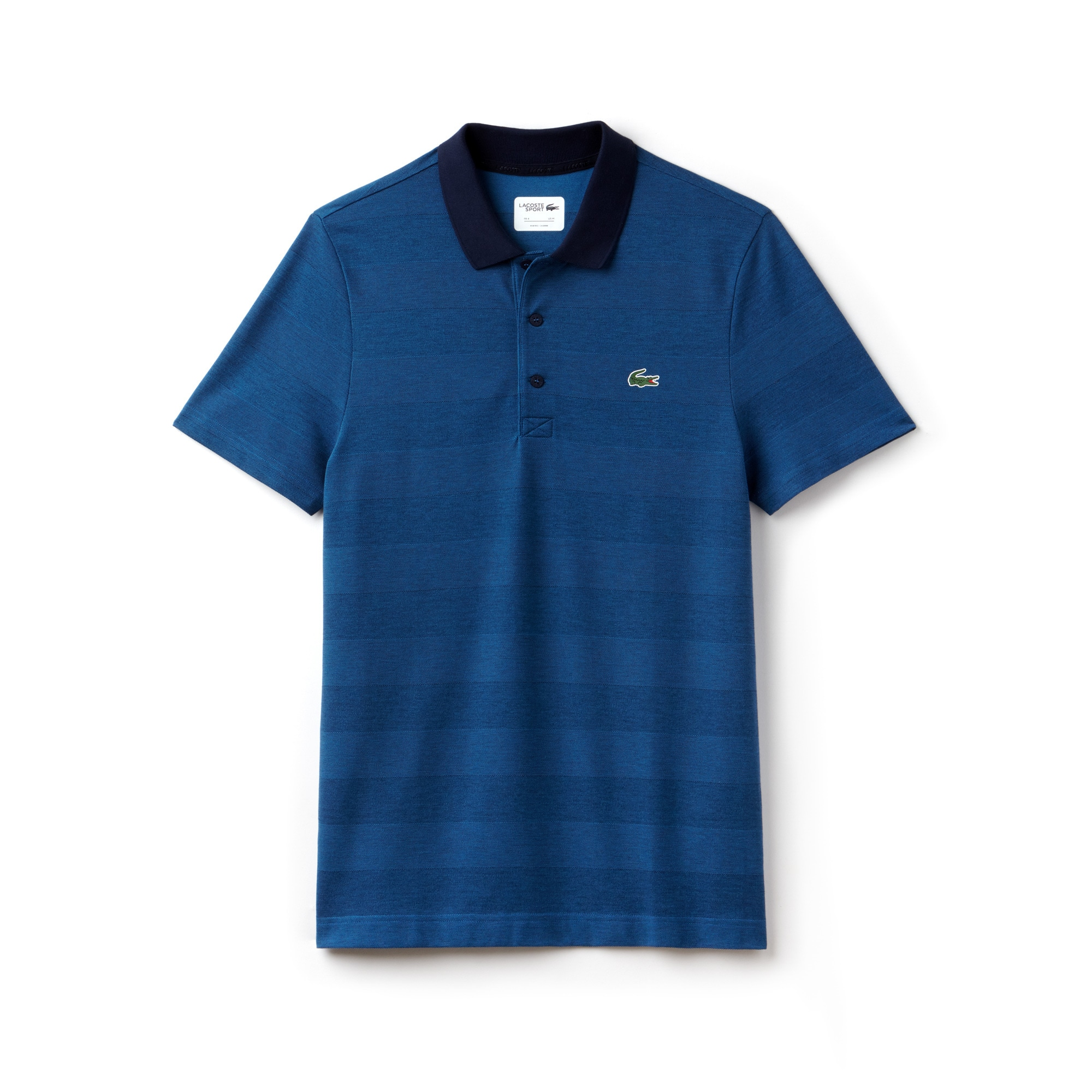 라코스테 Lacoste Mens SPORT Technical Jersey Golf Polo,navy blue/medway